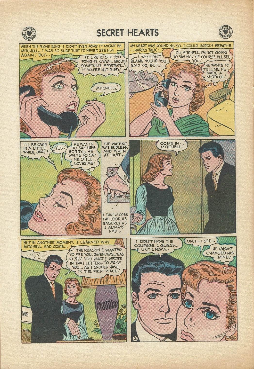 Read online Secret Hearts comic -  Issue #47 - 12