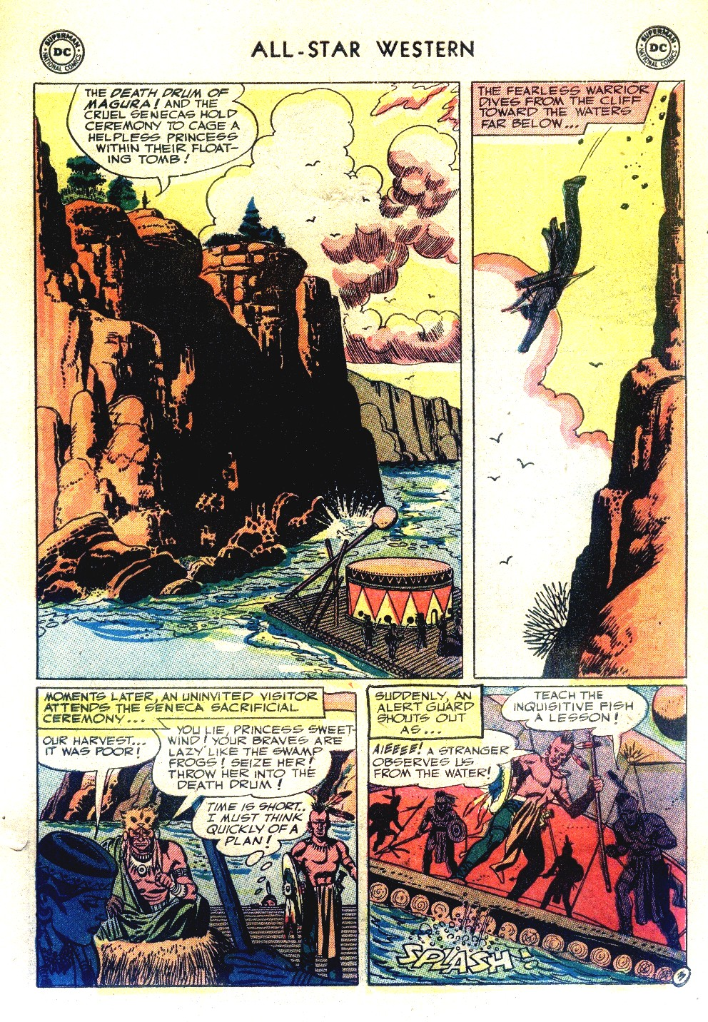 Read online All-Star Western (1951) comic -  Issue #66 - 31