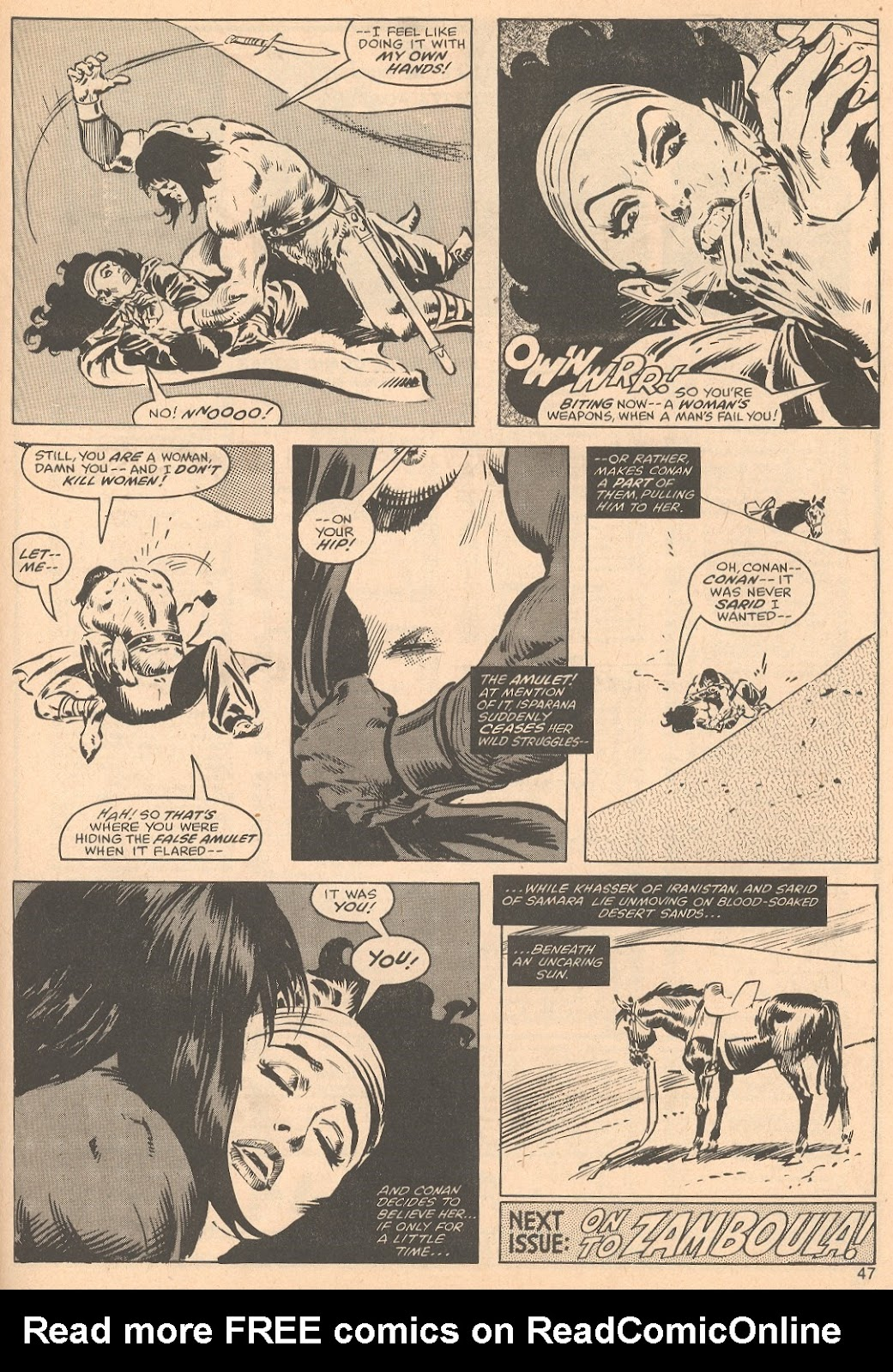 The Savage Sword Of Conan Issue #56 #57 - English 47