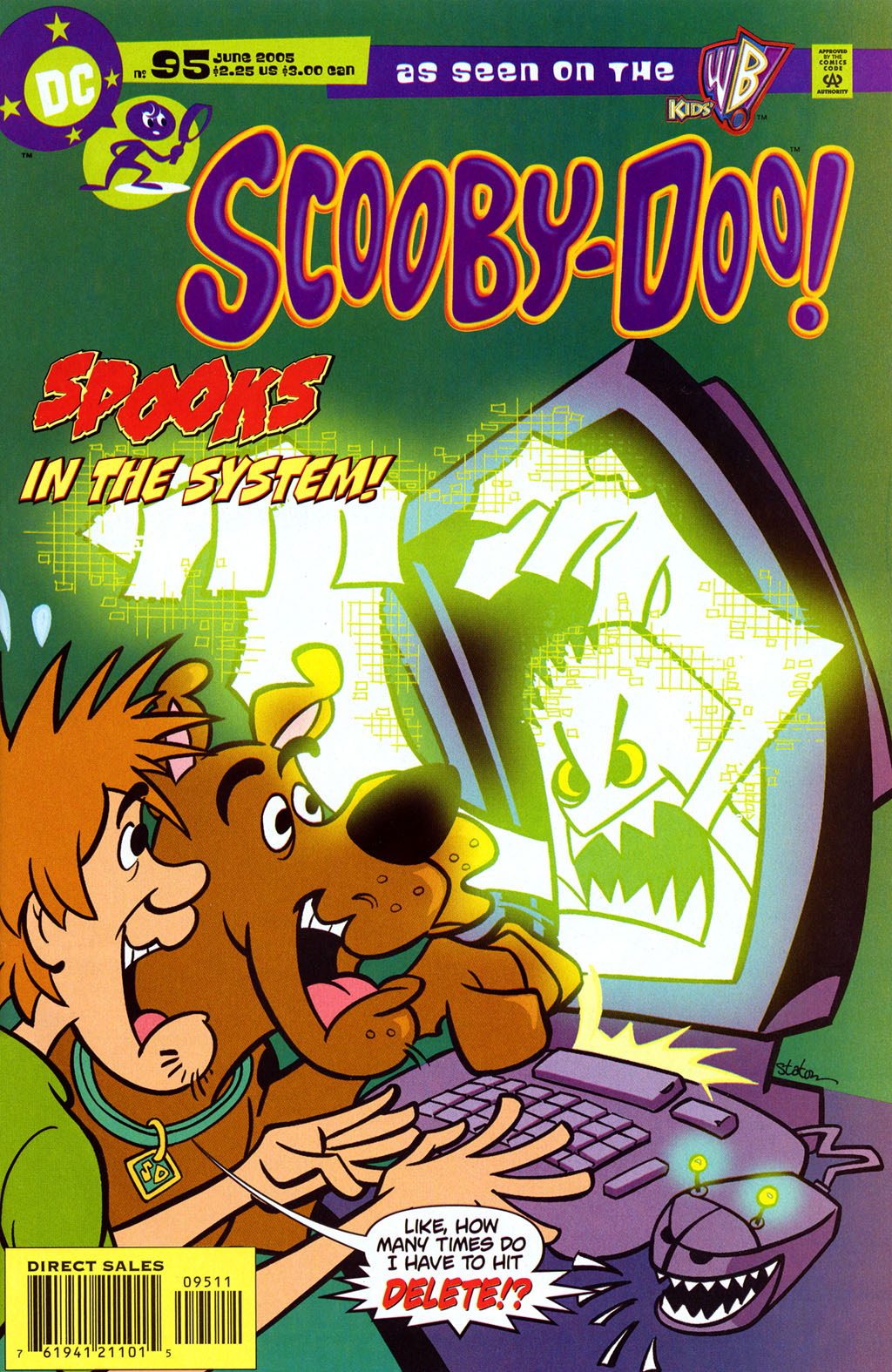 Read online Scooby-Doo (1997) comic -  Issue #95 - 1