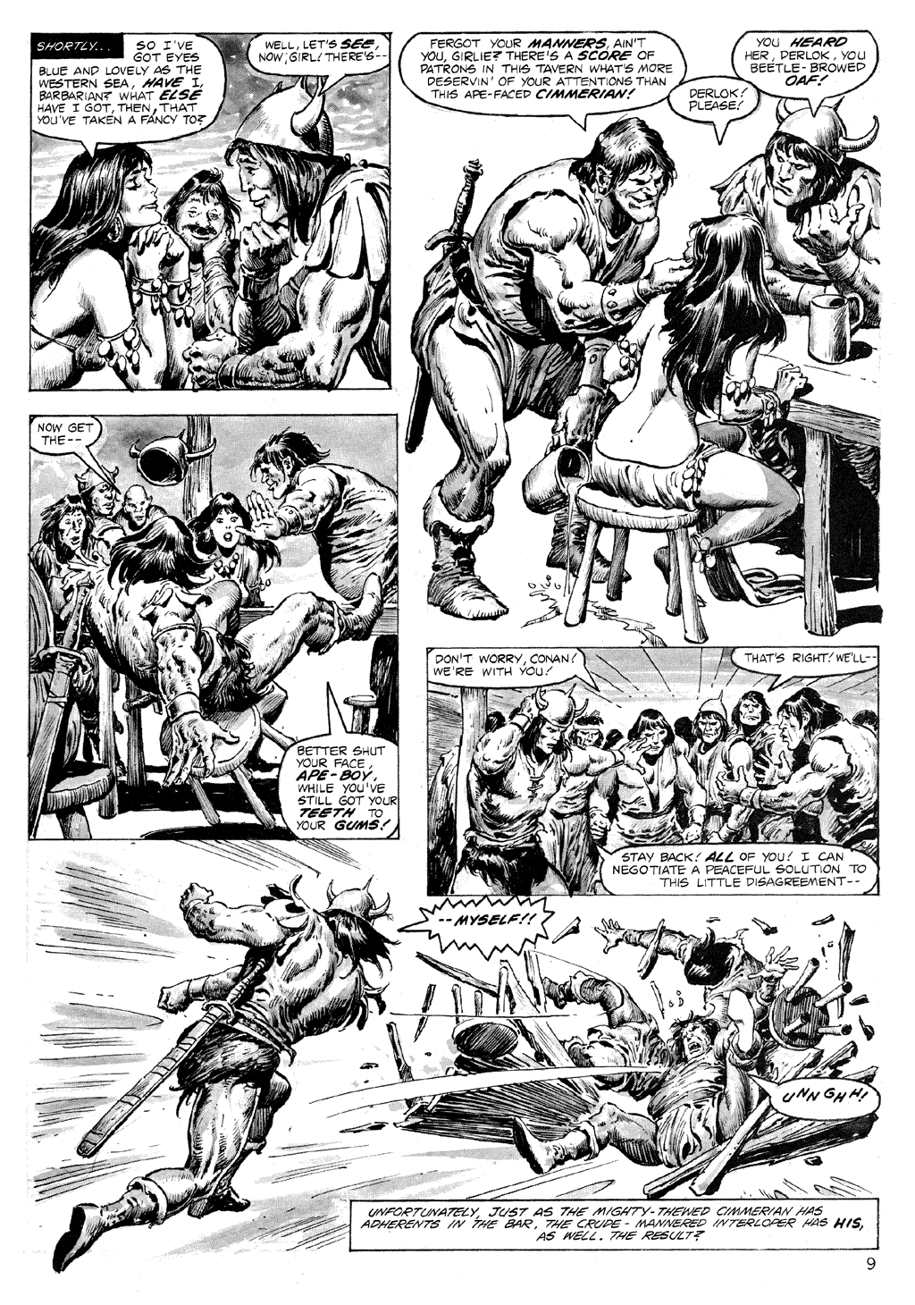 The Savage Sword Of Conan Issue #71 #72 - English 9