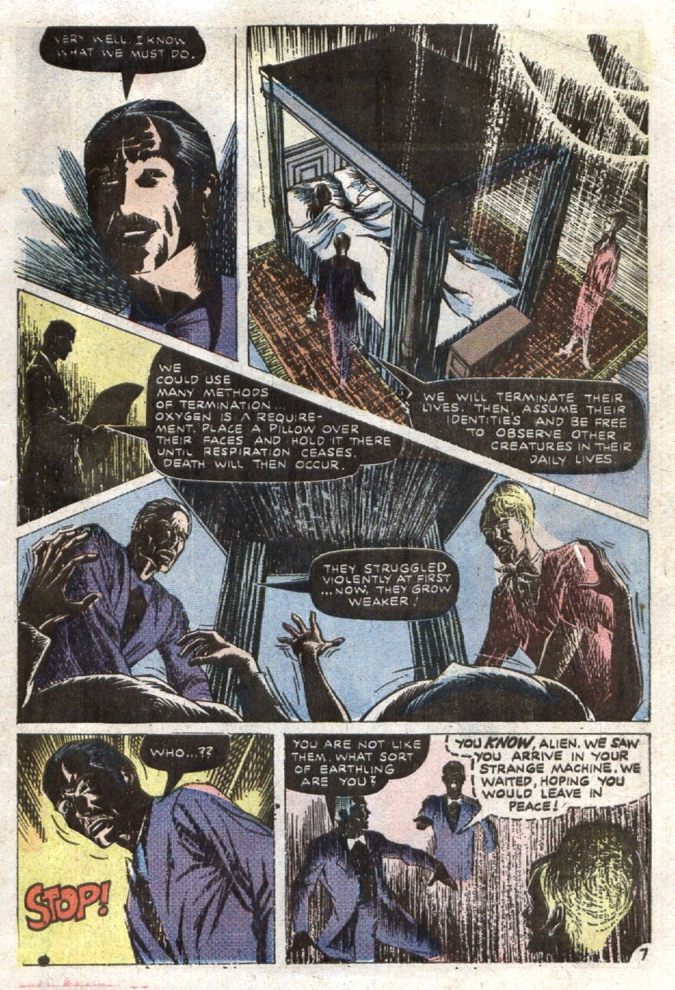 Read online Scary Tales comic -  Issue #7 - 19