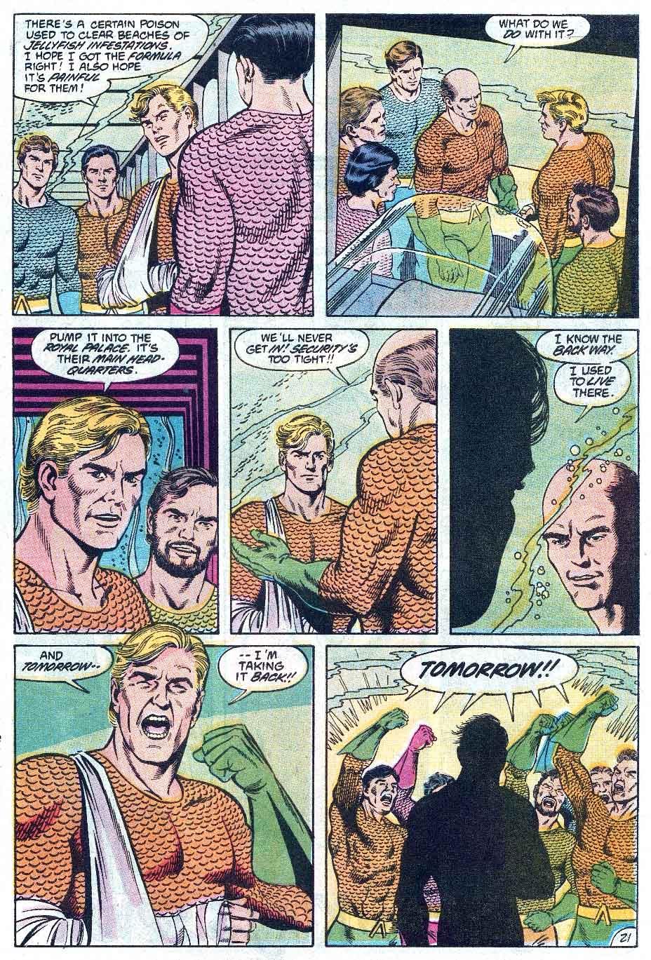Aquaman (1989) Issue #2 #2 - English 22