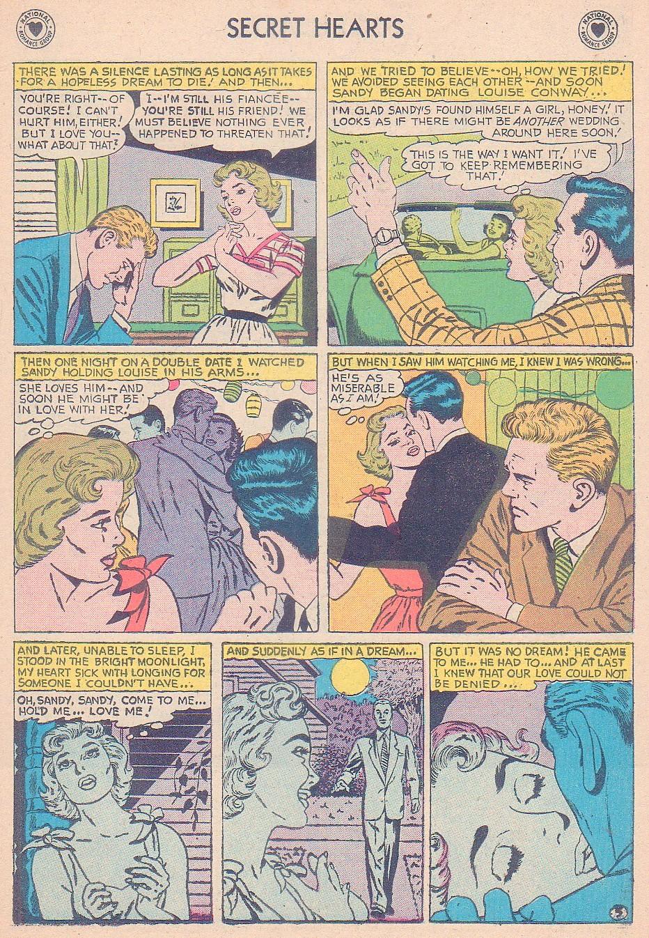 Read online Secret Hearts comic -  Issue #44 - 23
