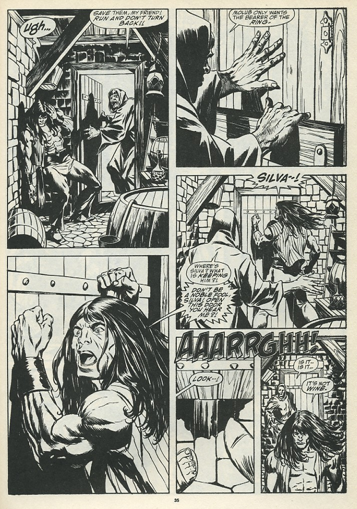 The Savage Sword Of Conan Issue #185 #186 - English 37