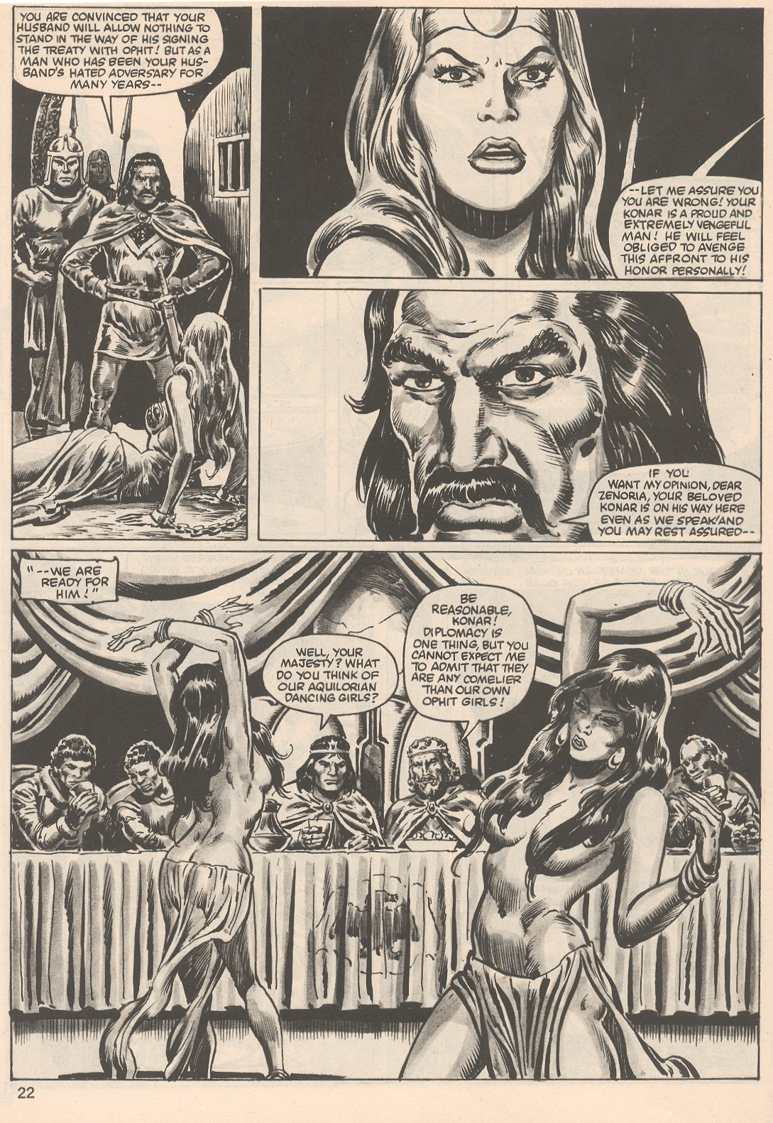 The Savage Sword Of Conan Issue #104 #105 - English 22