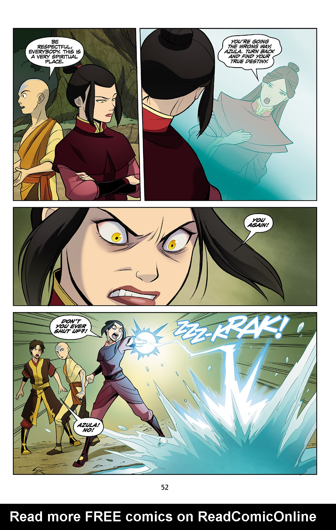 Read online Nickelodeon Avatar: The Last Airbender - The Search comic -  Issue # Part 2 - 53