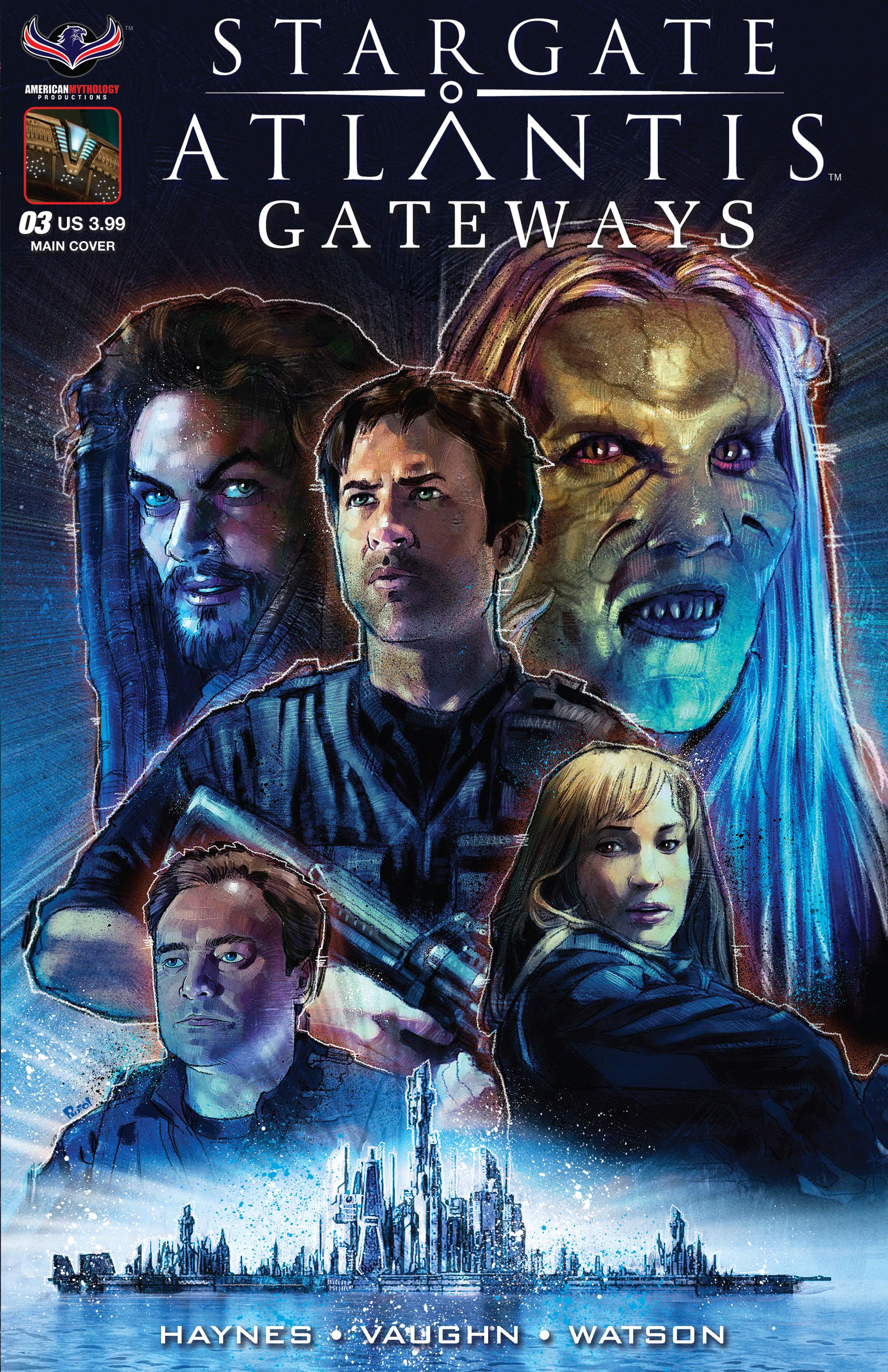 Stargate Atlantis: Gateways issue 3 - Page 1