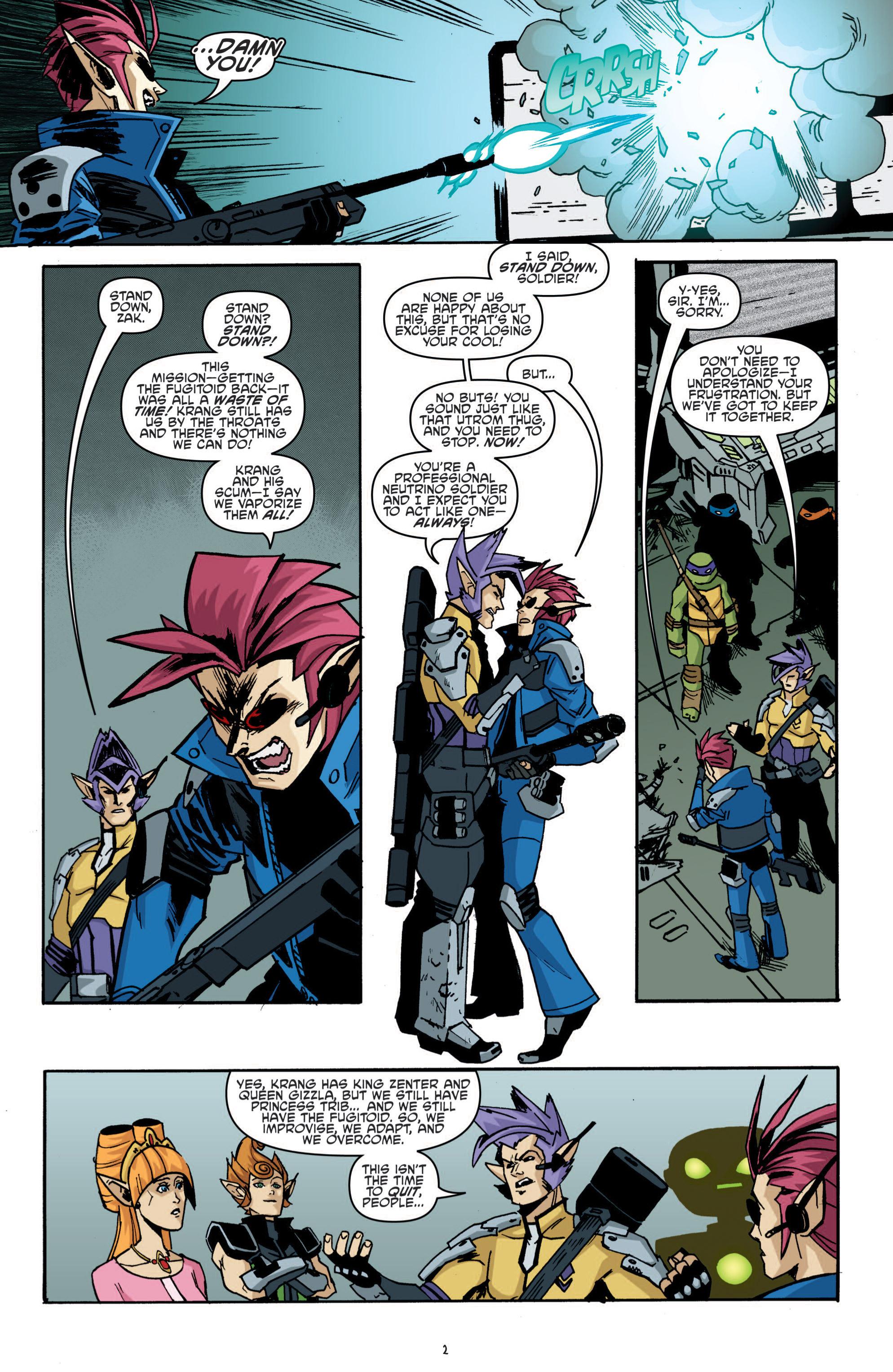 Read online Teenage Mutant Ninja Turtles (2011) comic -  Issue #19 - 6