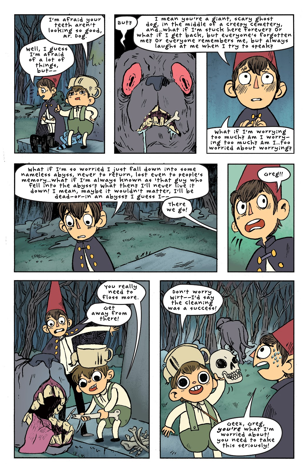 Over the Garden Wall (2016) Issue #6 #6 - English 20