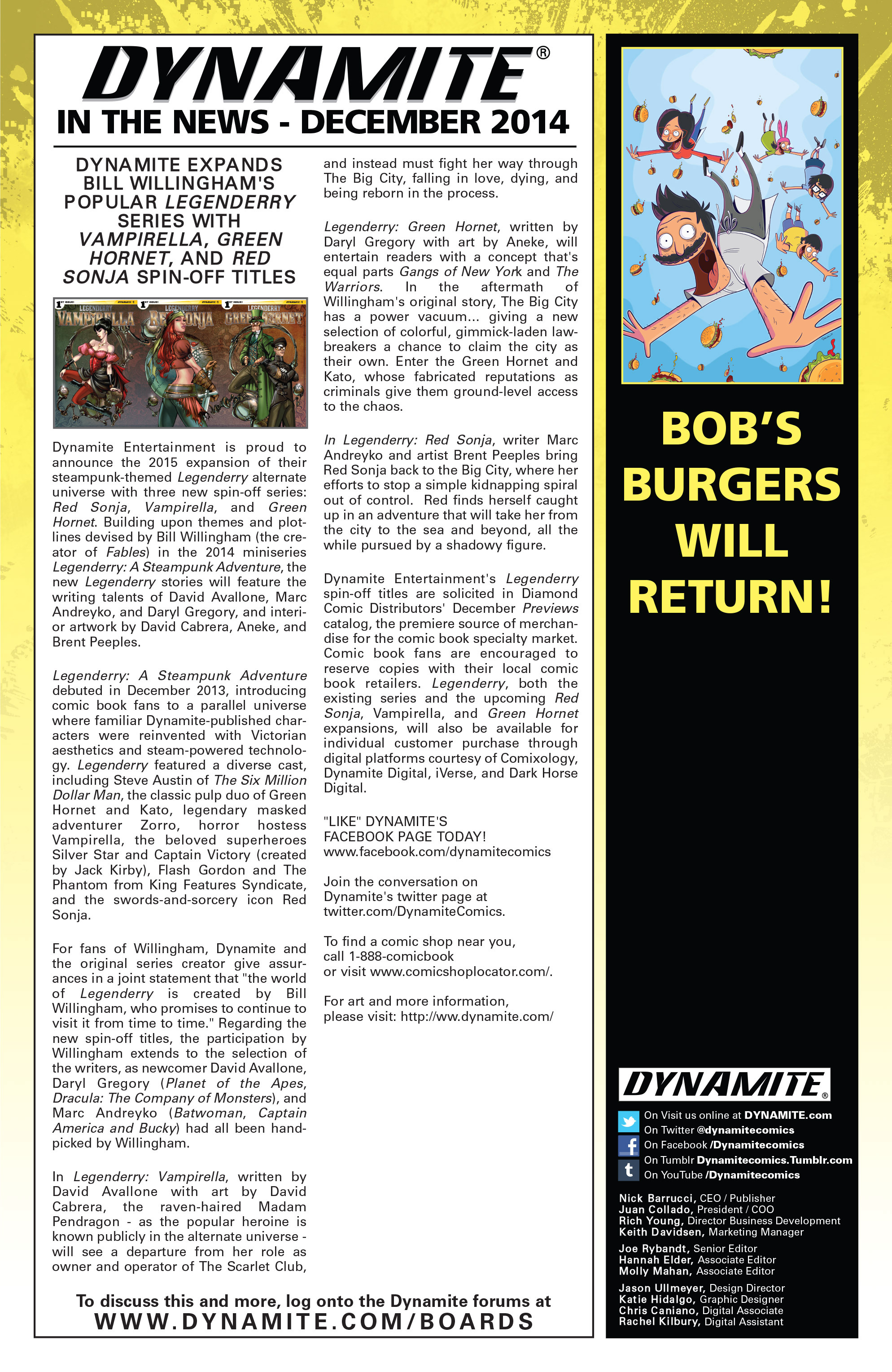 Read online Bob's Burgers (2014) comic -  Issue #5 - 29