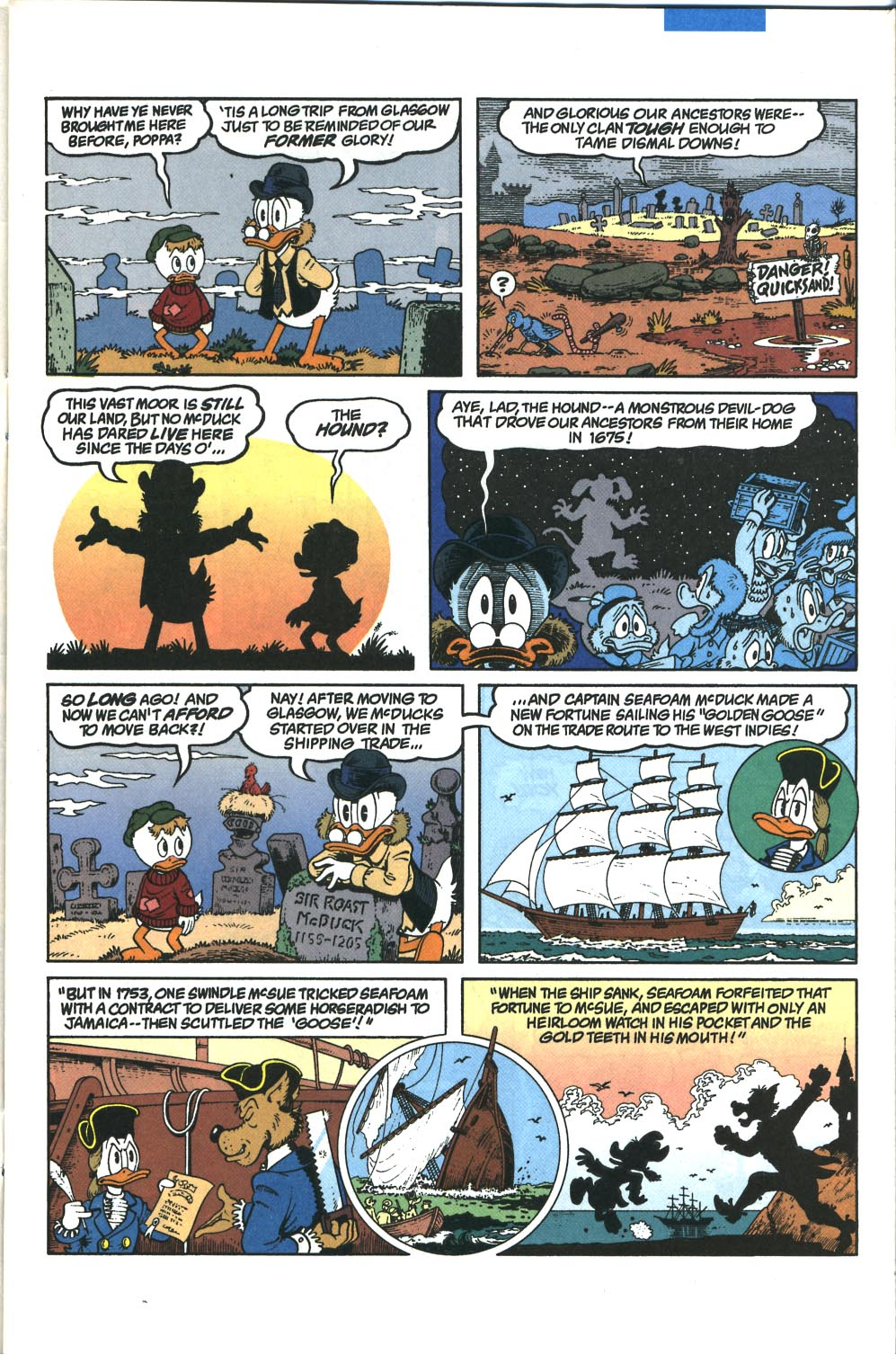 Uncle Scrooge (1953) Issue #285 #285 - English 4