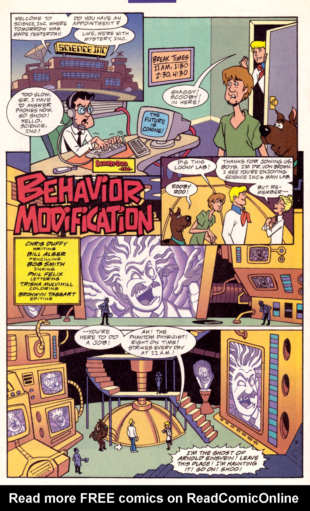 Read online Scooby-Doo (1997) comic -  Issue #11 - 16