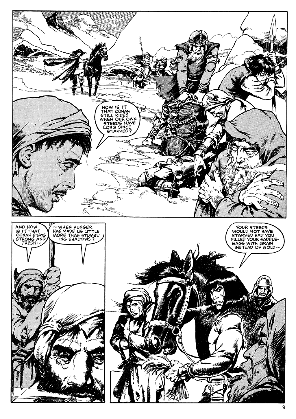 The Savage Sword Of Conan Issue #110 #111 - English 10