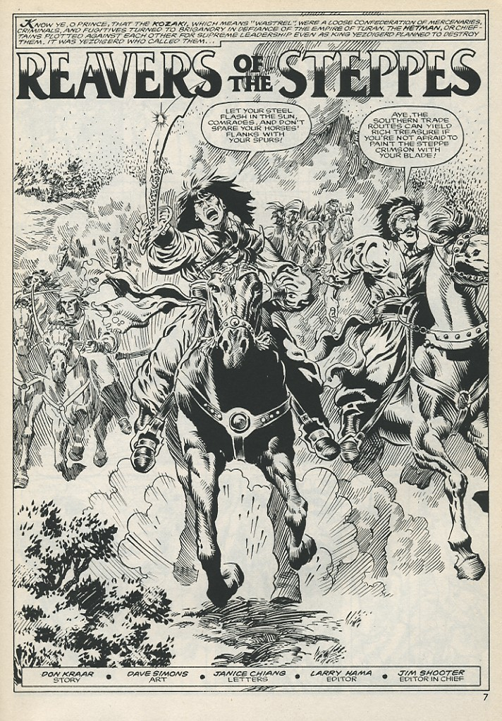 The Savage Sword Of Conan Issue #131 #132 - English 7