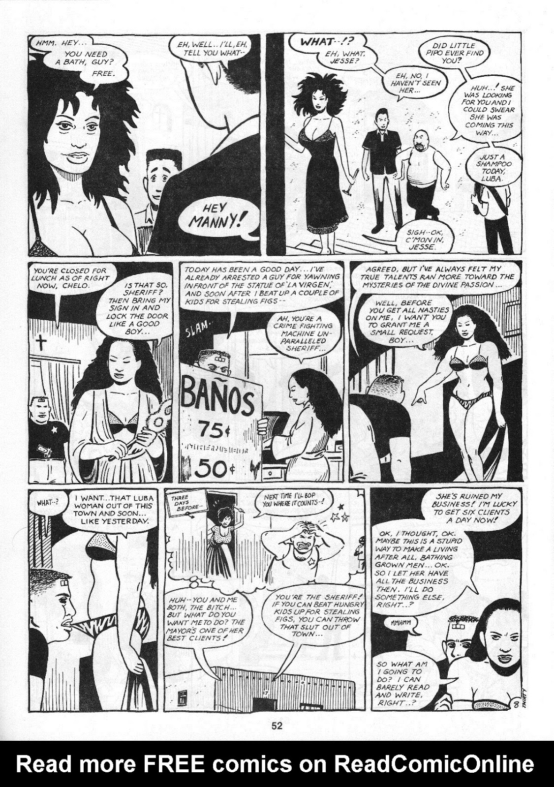 Love and Rockets (1982) Issue #4 #3 - English 54