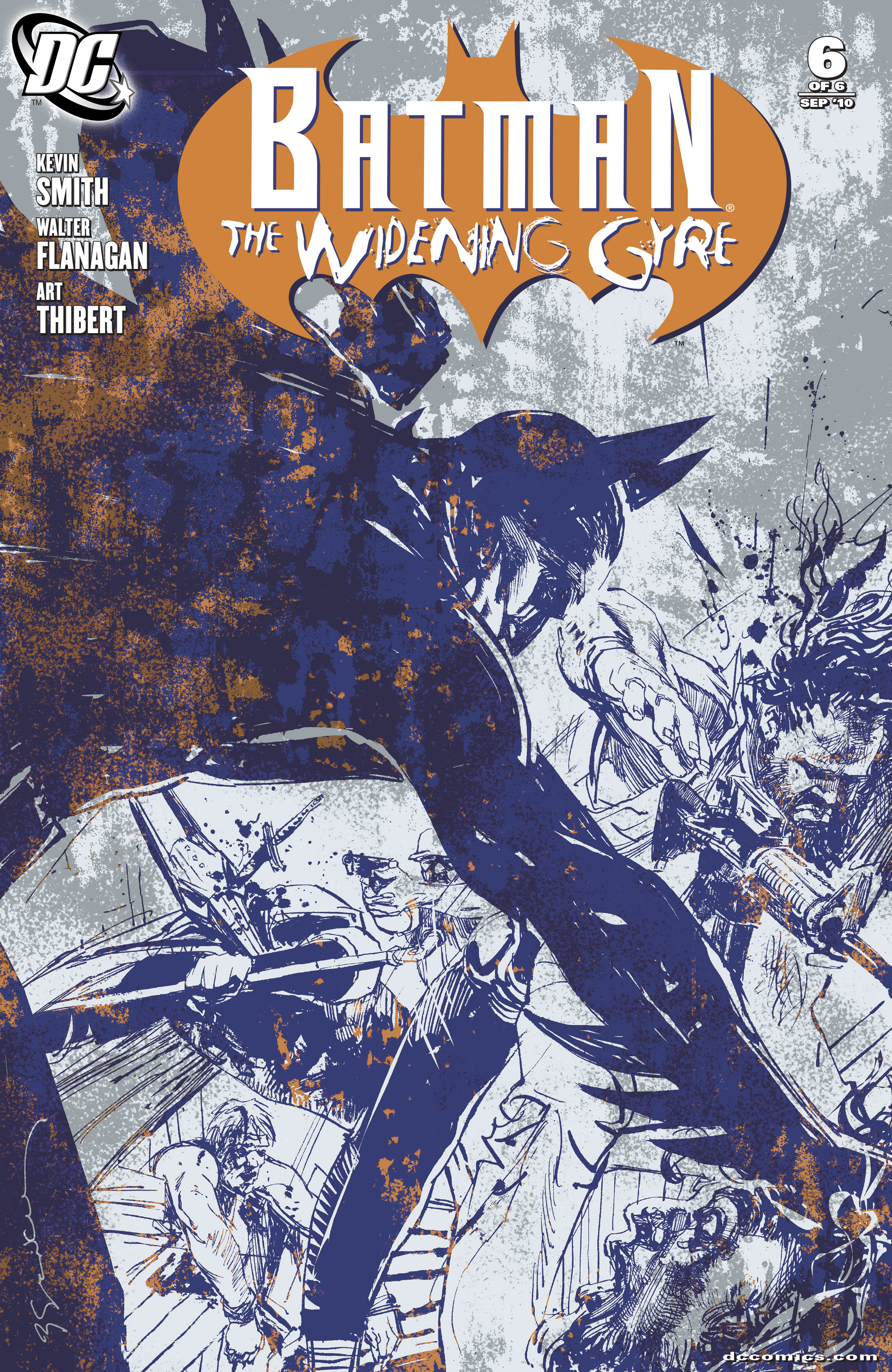 Read online Batman: The Widening Gyre comic -  Issue #6 - 1