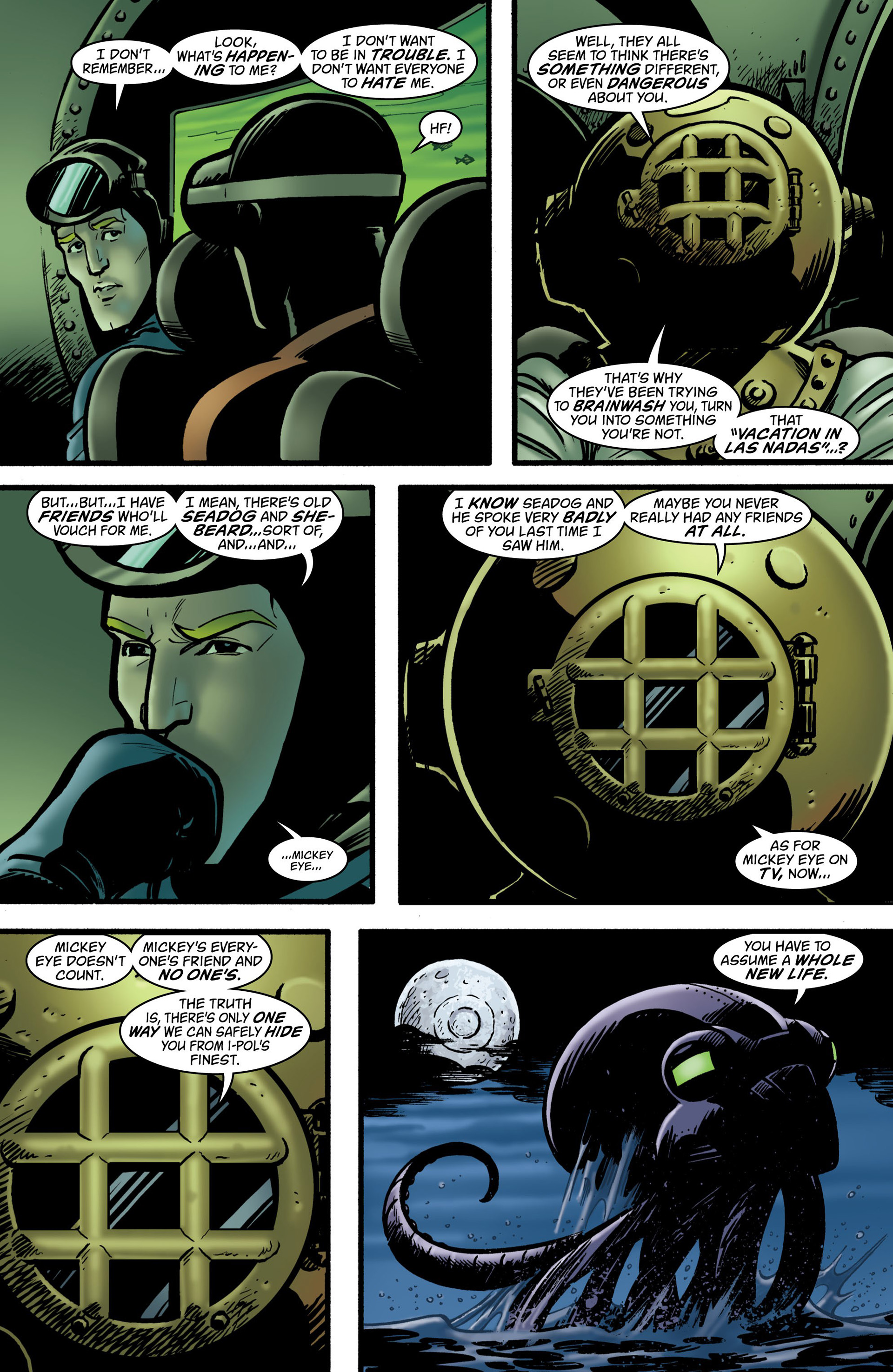 Read online Seaguy: The Slaves of Mickey Eye comic -  Issue #2 - 8