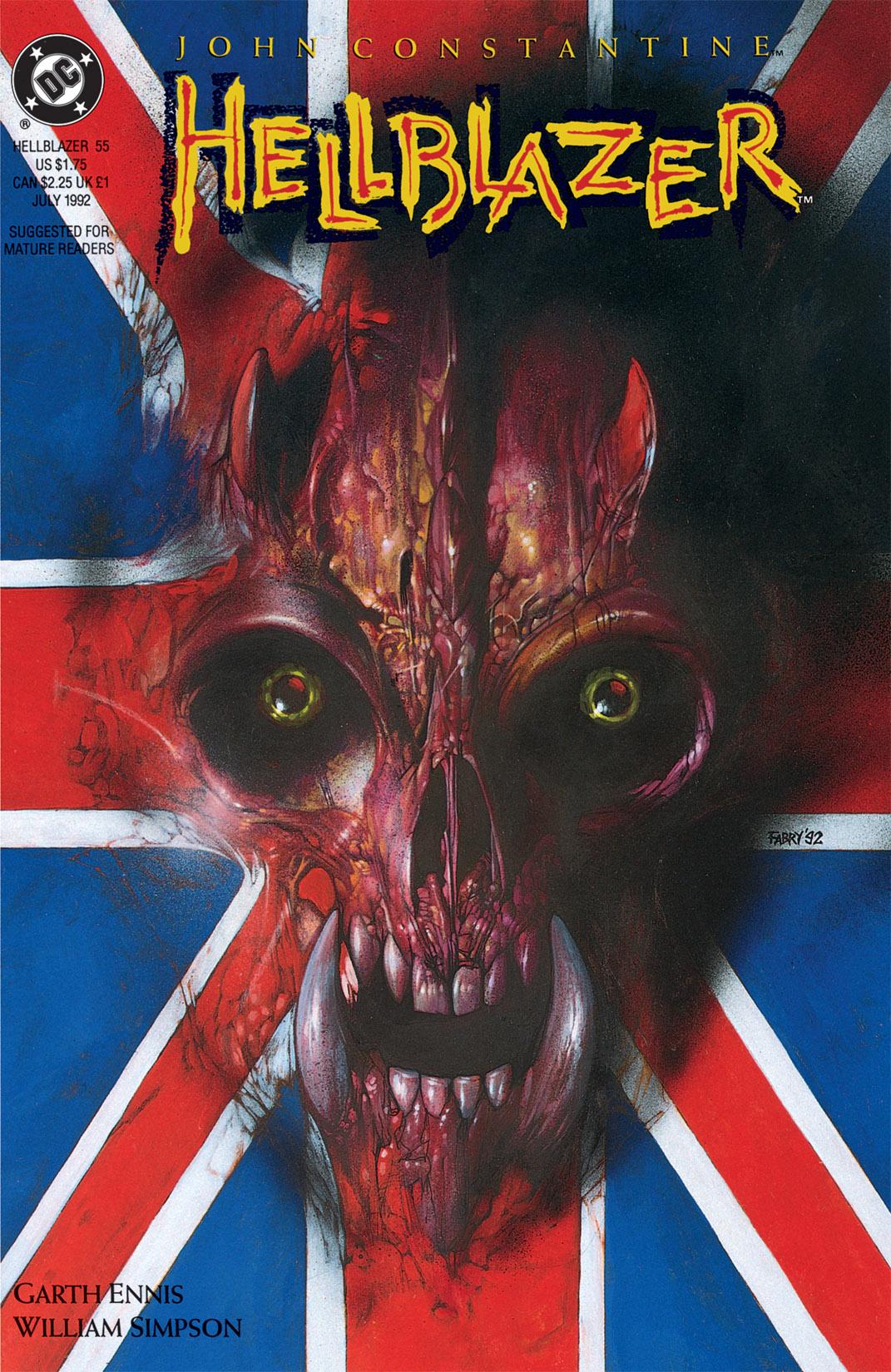 Hellblazer issue 55 - Page 1
