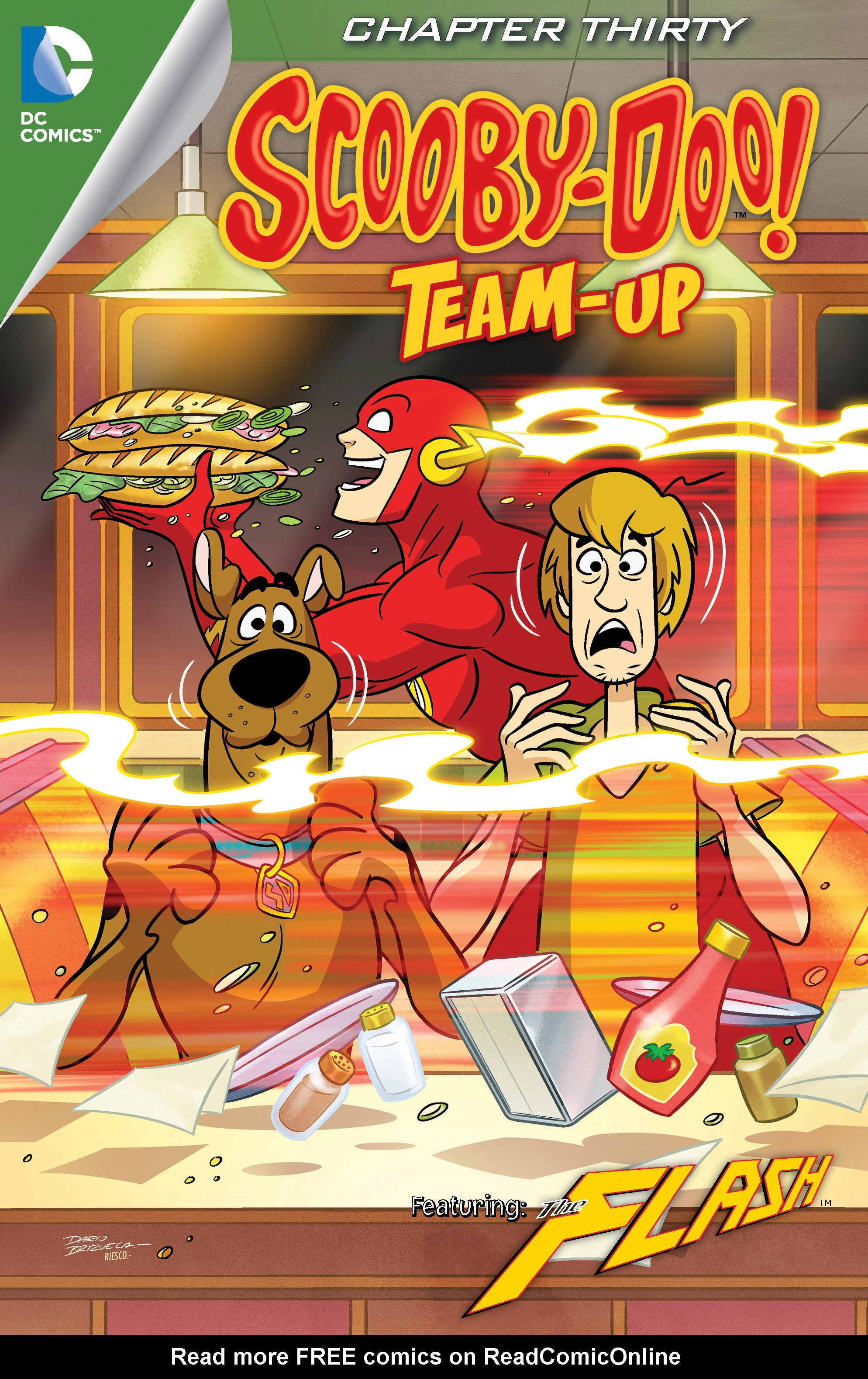 Read online Scooby-Doo! Team-Up comic -  Issue #30 - 2