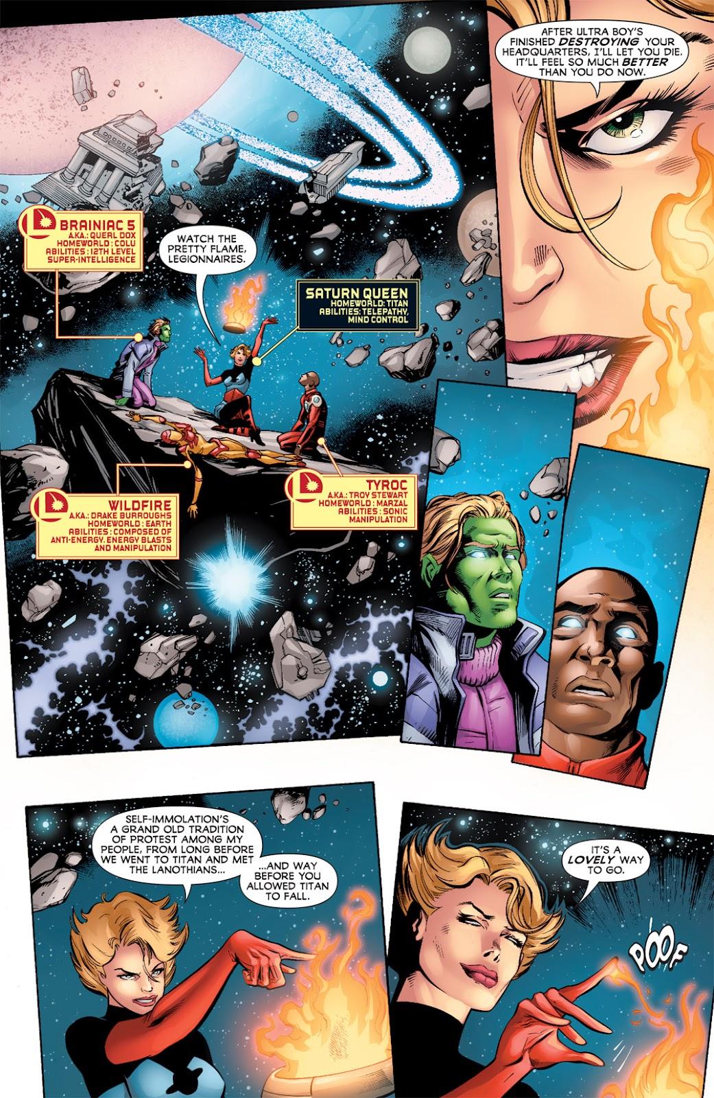 Legion of Super-Heroes (2010) Issue #3 #4 - English 7