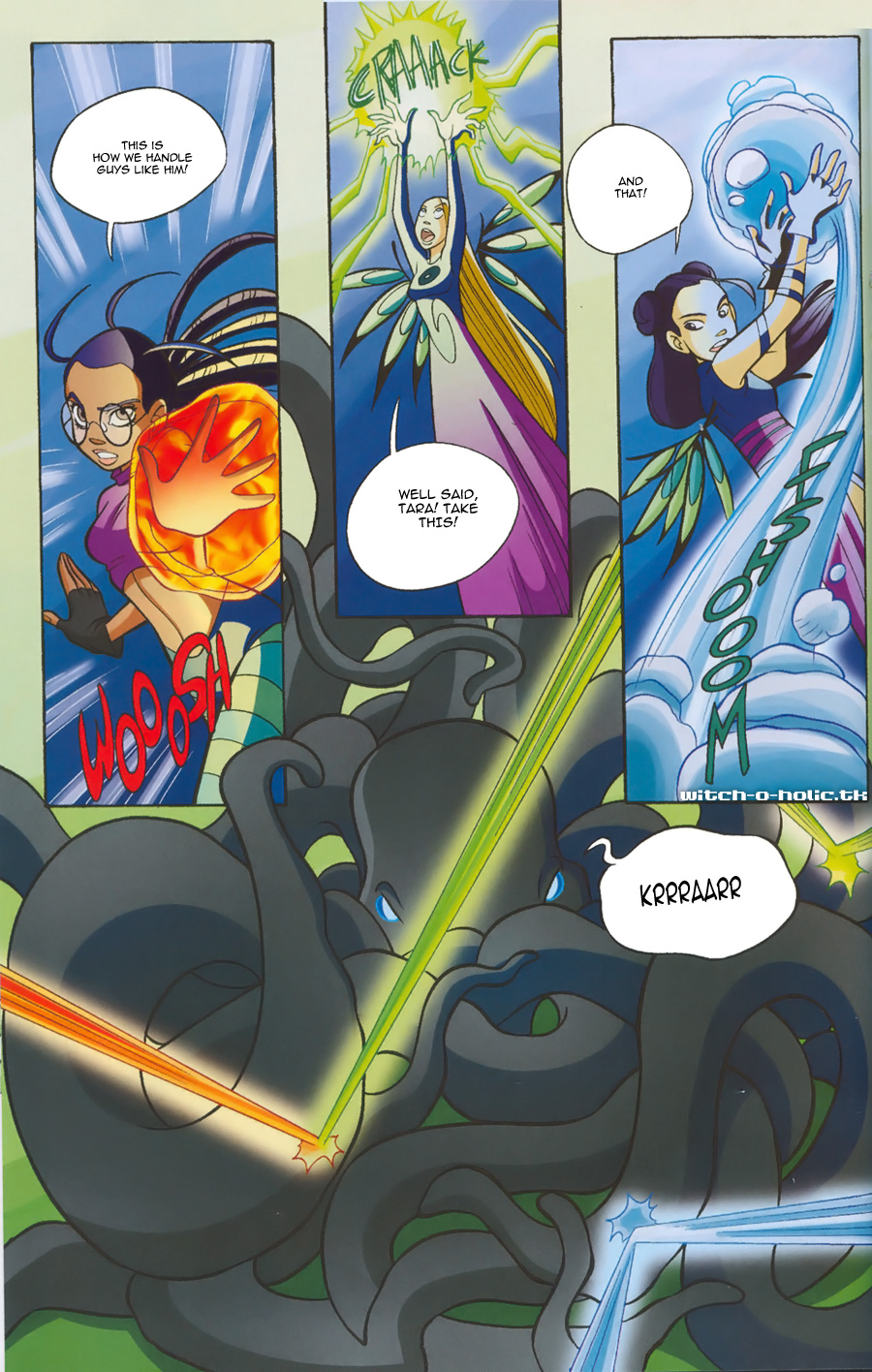 Read online W.i.t.c.h. comic -  Issue #135 - 24