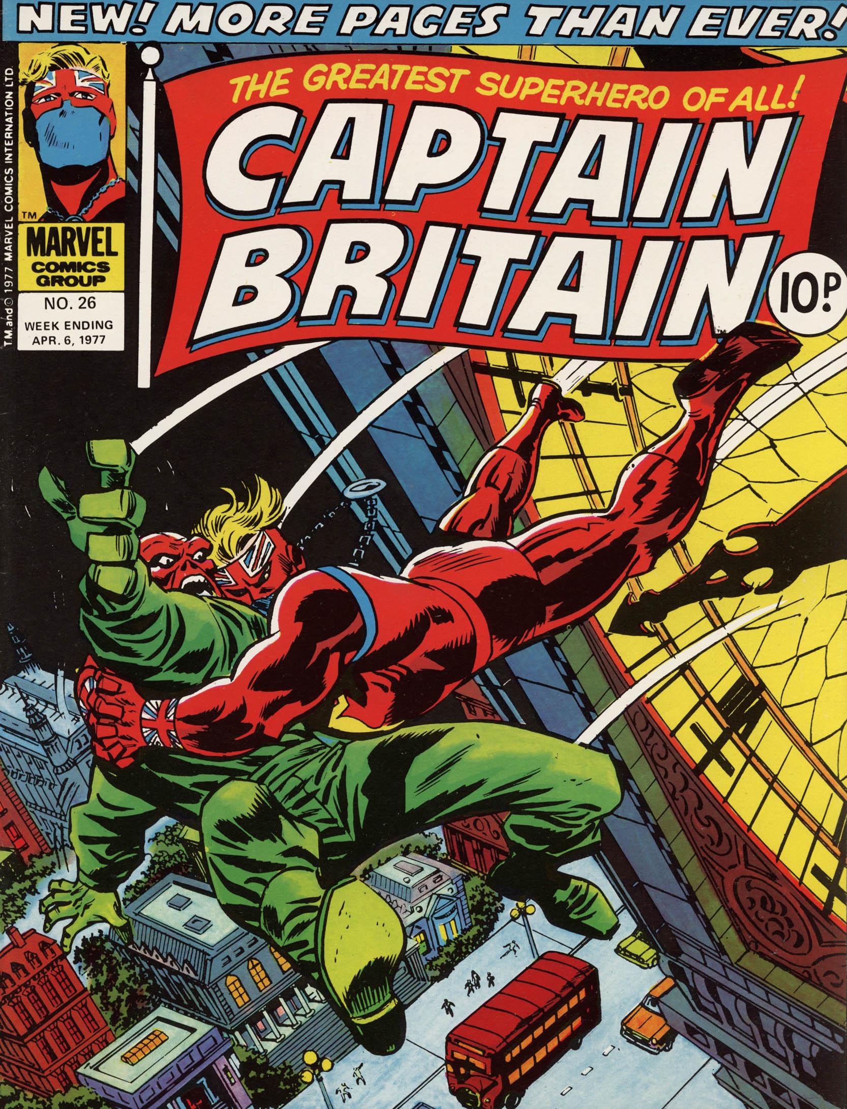 Captain Britain (1976) 26 Page 1