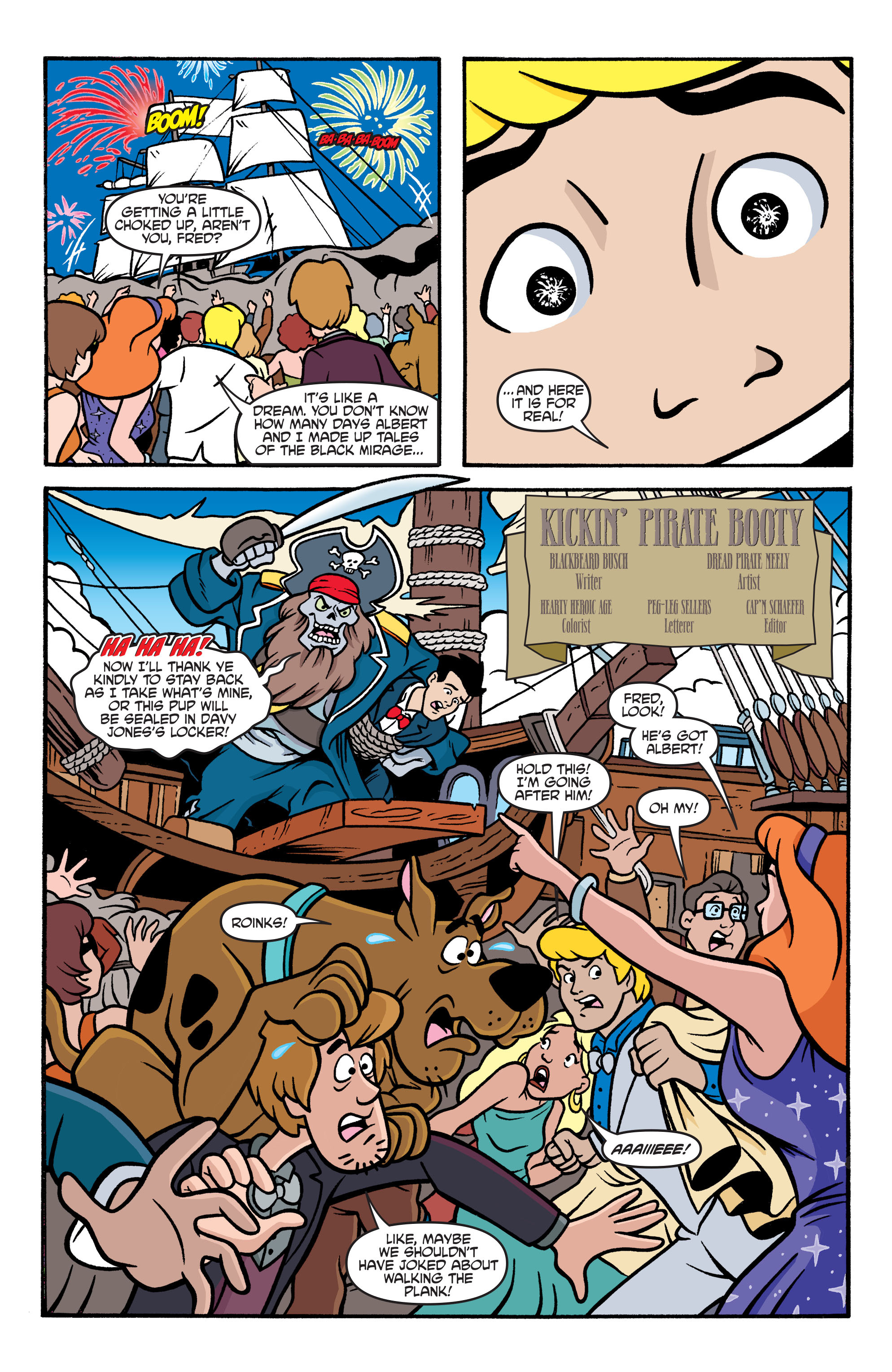 Read online Scooby-Doo: Where Are You? comic -  Issue #77 - 15