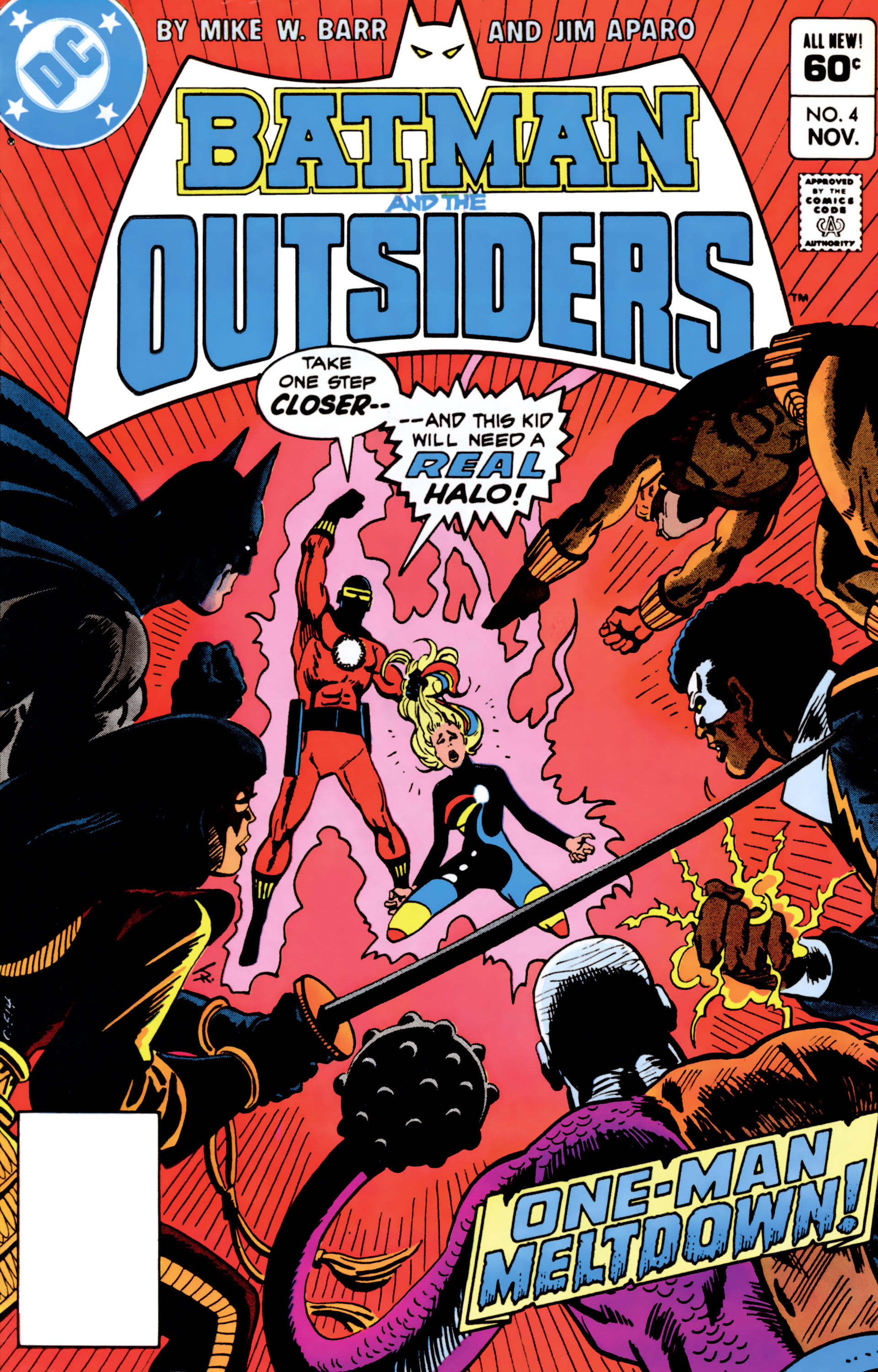 Batman and the Outsiders (1983) 4 Page 1