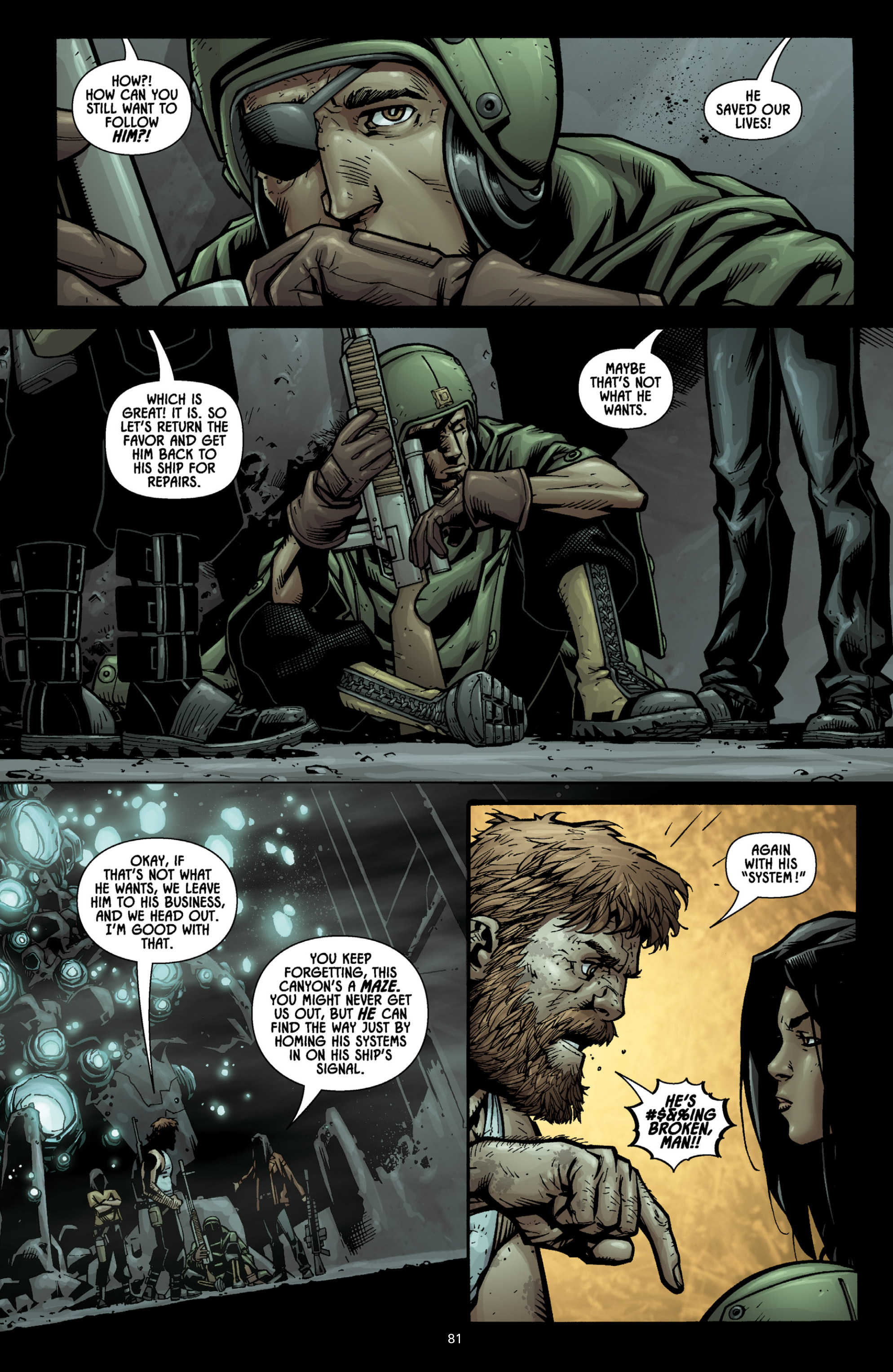Aliens (2009) TPB Page 75