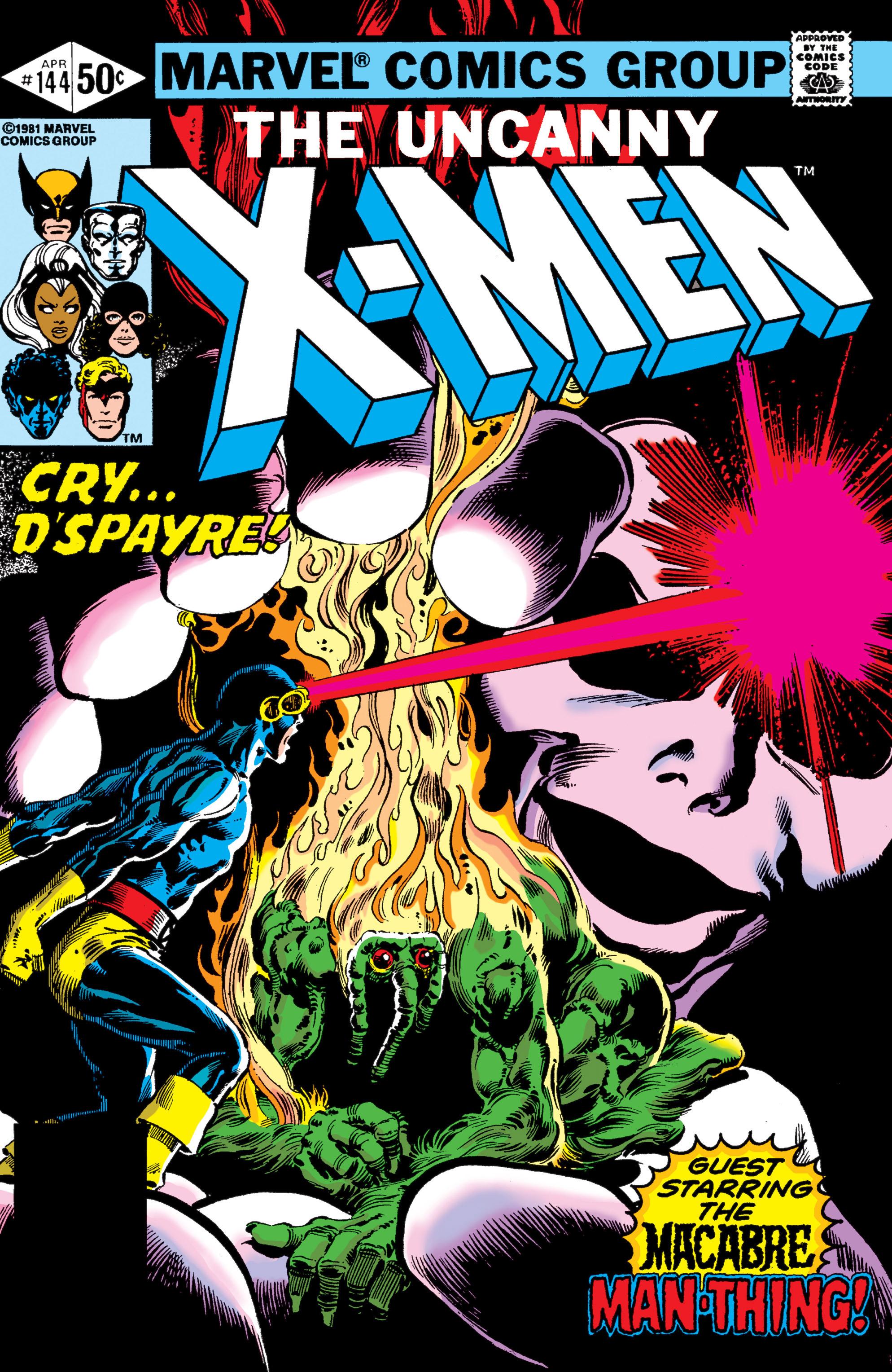 Uncanny X-Men (1963) 144 Page 1