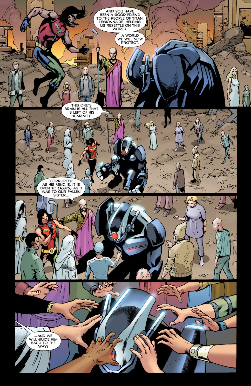 Legion of Super-Heroes (2010) Issue #14 #15 - English 9