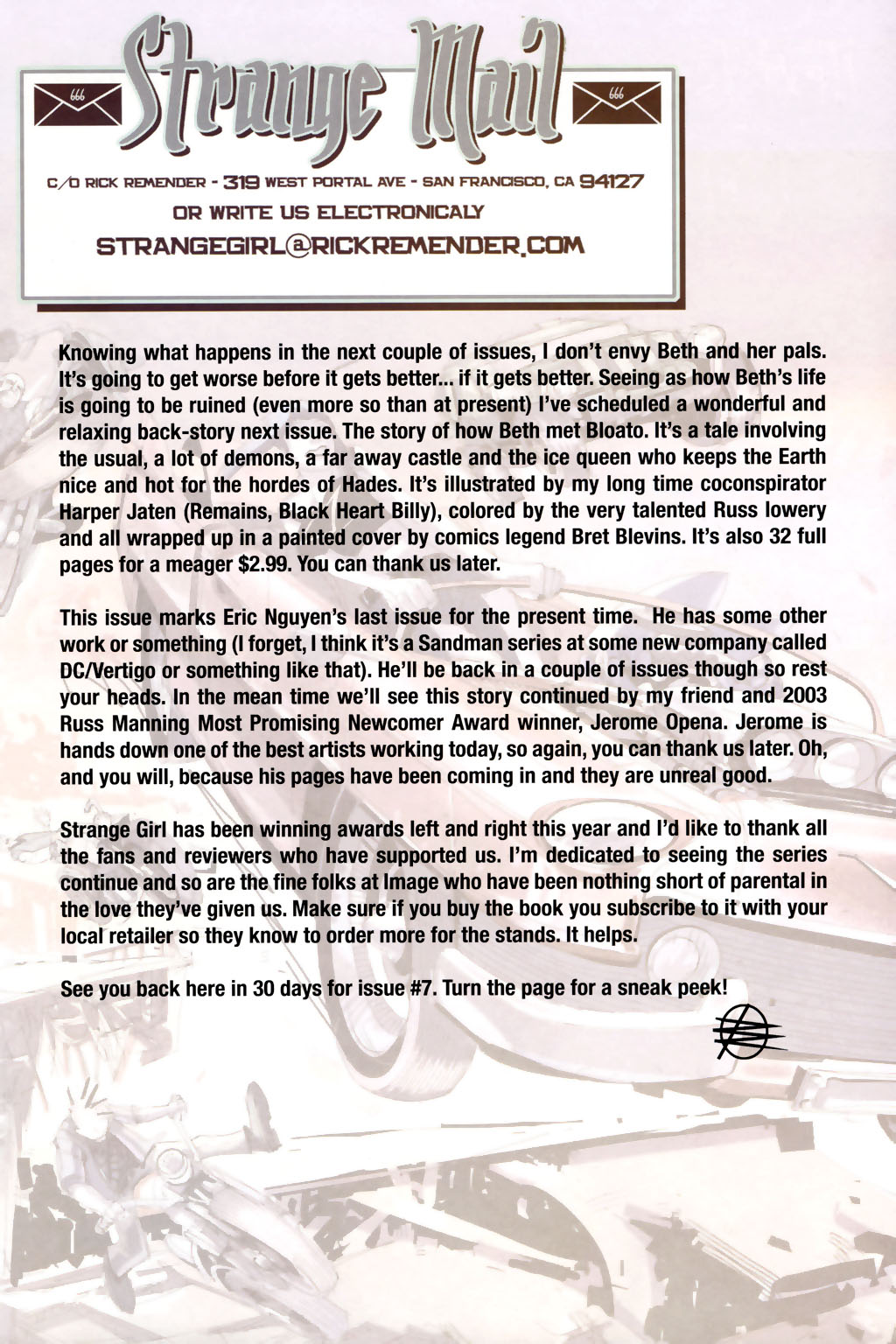 Strange Girl Issue #6 #7 - English 23