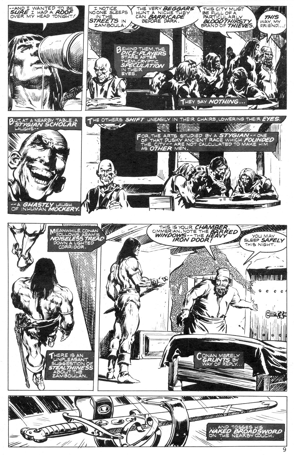 The Savage Sword Of Conan Issue #14 #15 - English 9