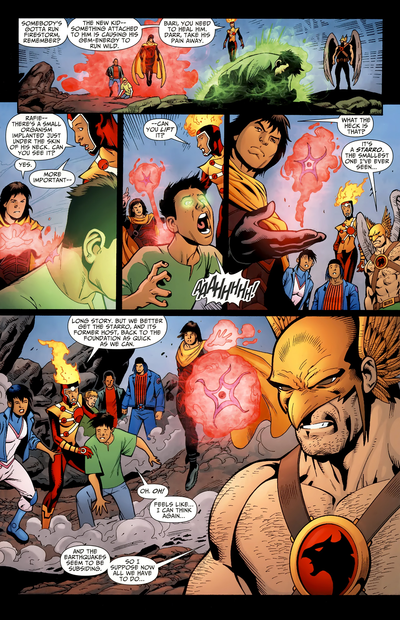 Read online Justice League of America/The 99 comic -  Issue #4 - 16