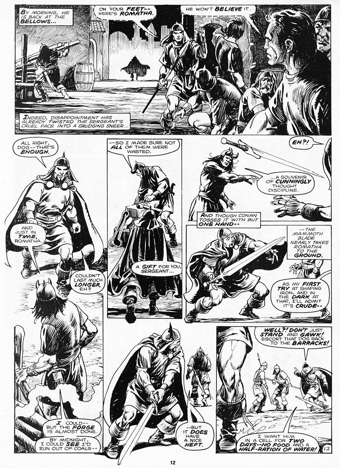 The Savage Sword Of Conan Issue #180 #181 - English 14