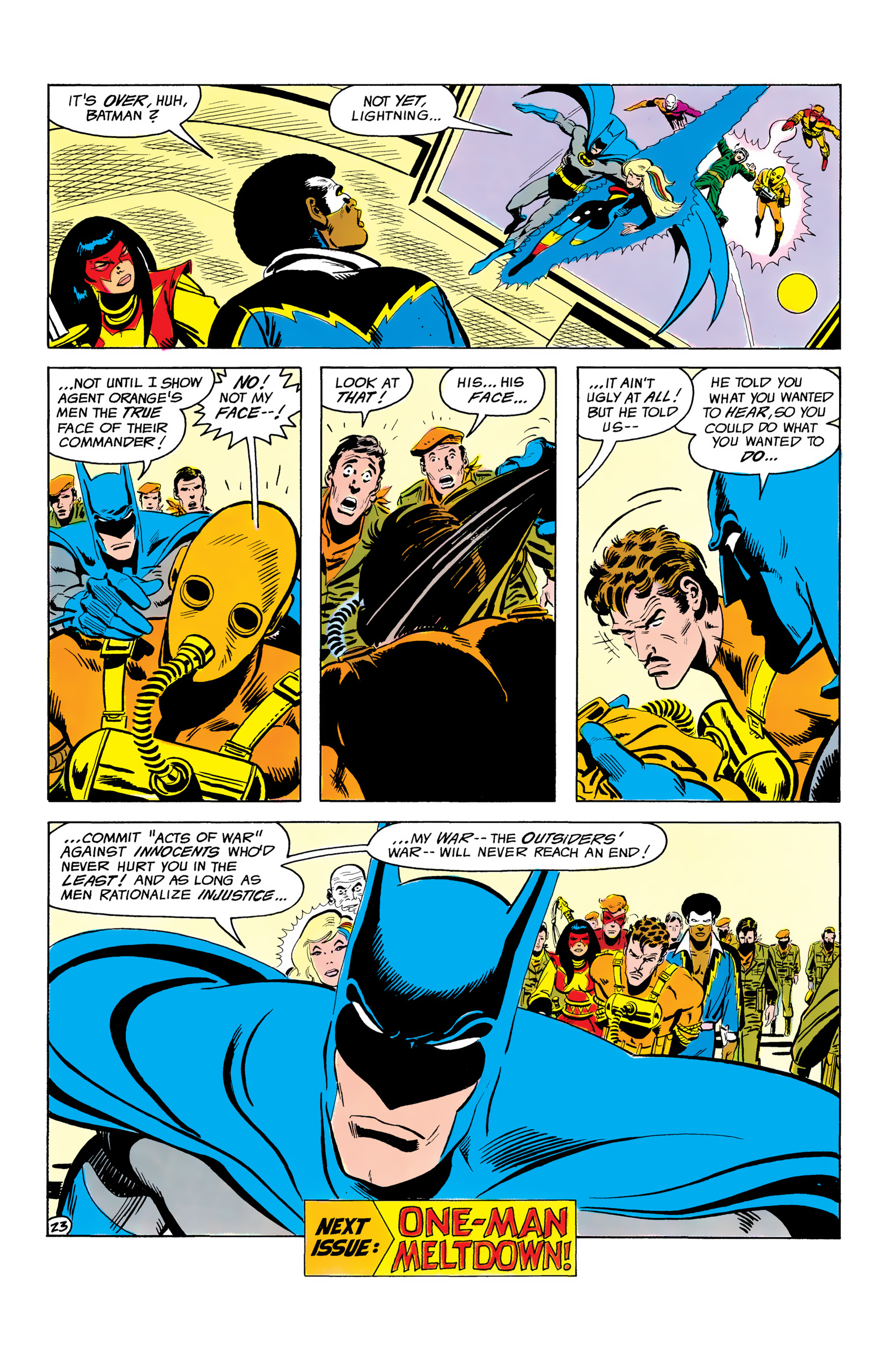 Batman and the Outsiders (1983) 3 Page 23