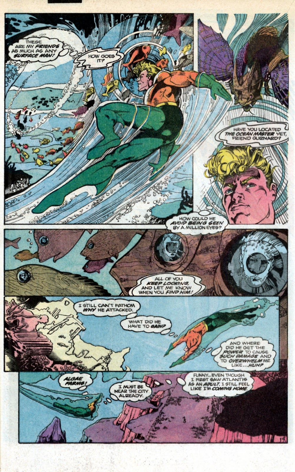Aquaman (1986) Issue #1 #1 - English 19