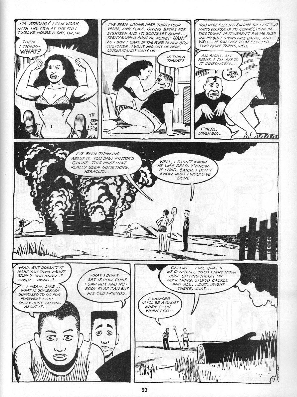 Love and Rockets (1982) Issue #4 #3 - English 55