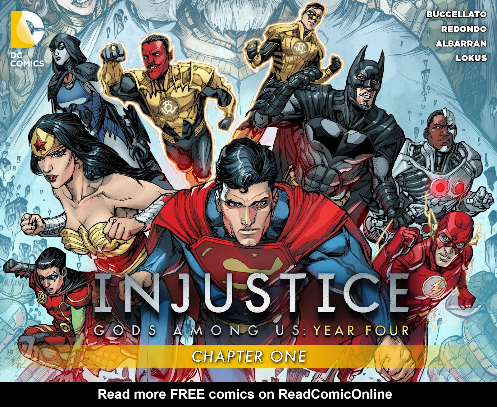 Injustice: Gods Among Us Year Four Issue #1 #2 - English 1
