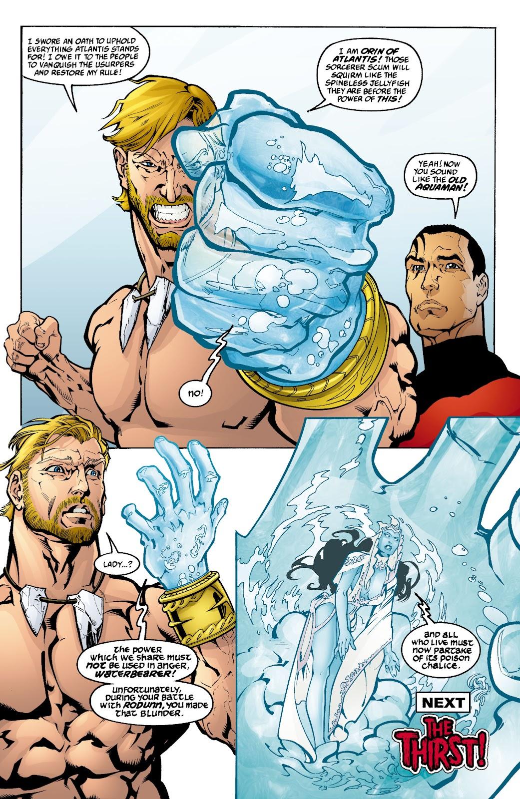 Aquaman (2003) Issue #4 #4 - English 23
