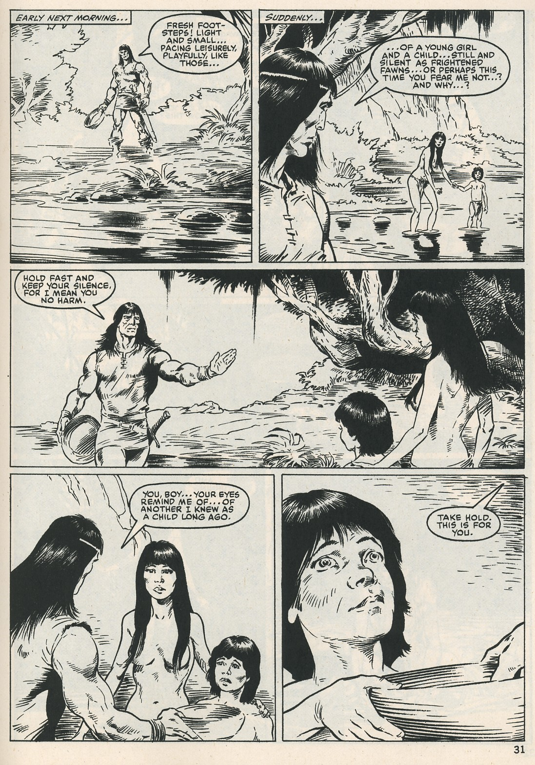 The Savage Sword Of Conan Issue #115 #116 - English 31