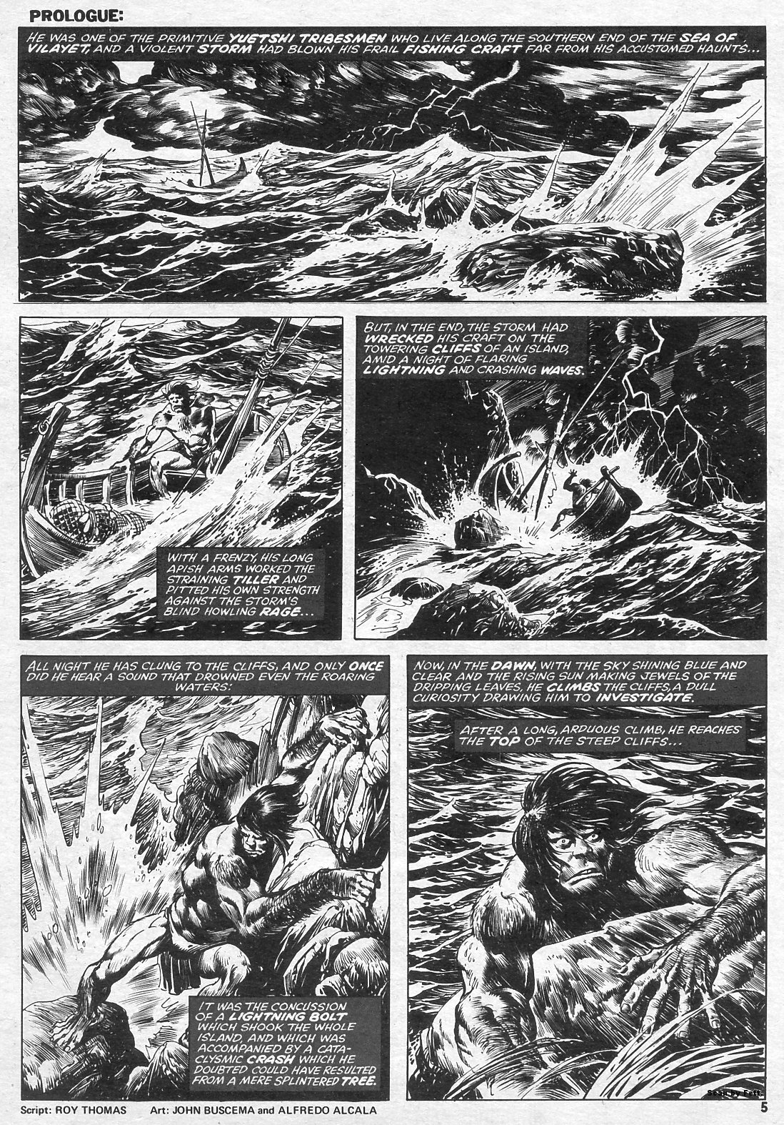 The Savage Sword Of Conan Issue #15 #16 - English 5