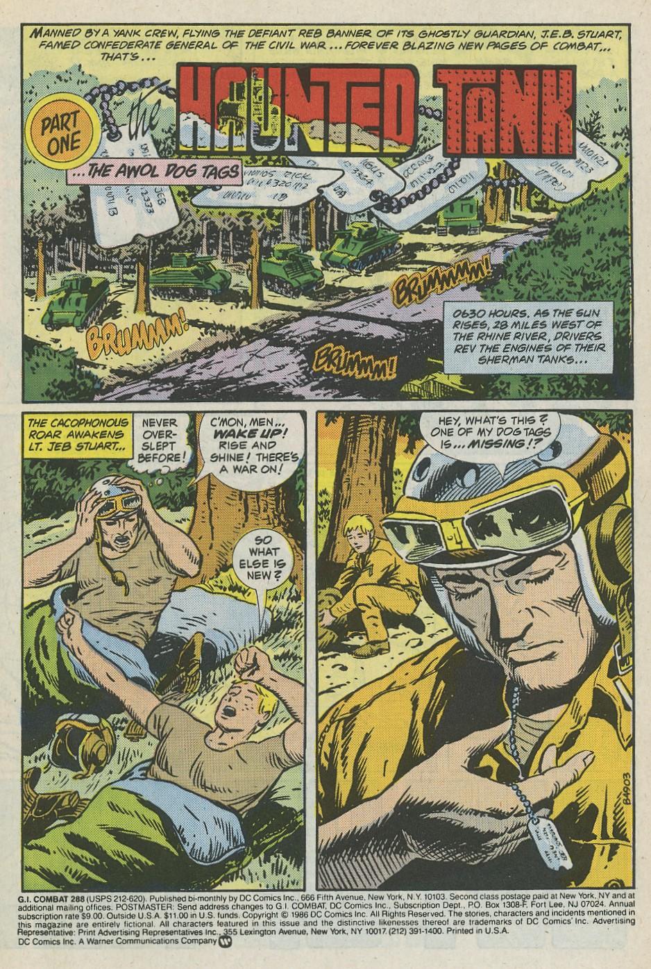 G.I. Combat (1952) Issue #288 #288 - English 3
