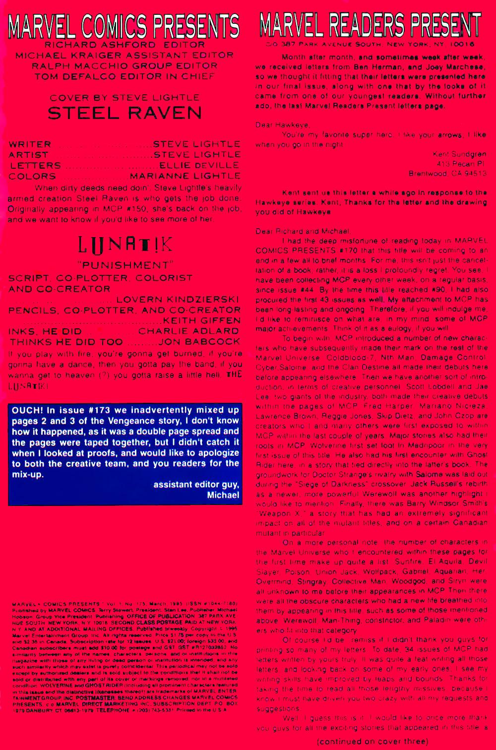 Marvel Comics Presents (1988) chap 175 pic 3