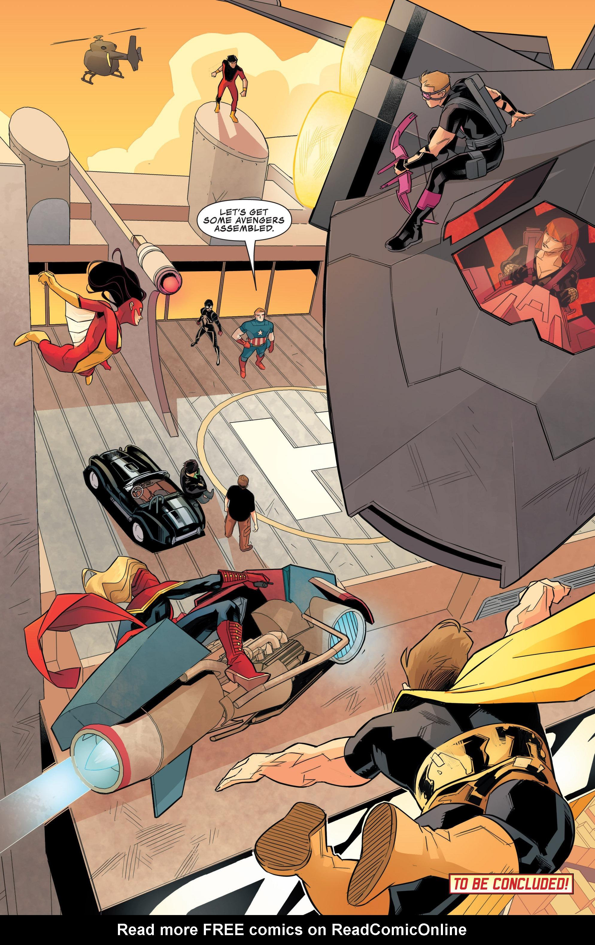 Read online Avengers Assemble (2012) comic -  Issue #24 - 21