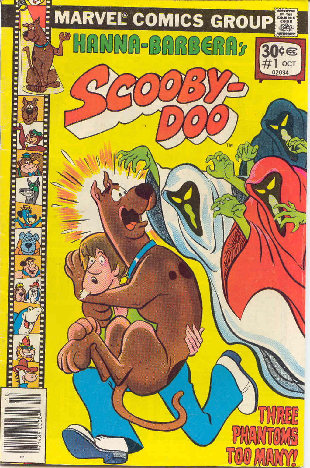 Read online Scooby-Doo (1977) comic -  Issue #1 - 1
