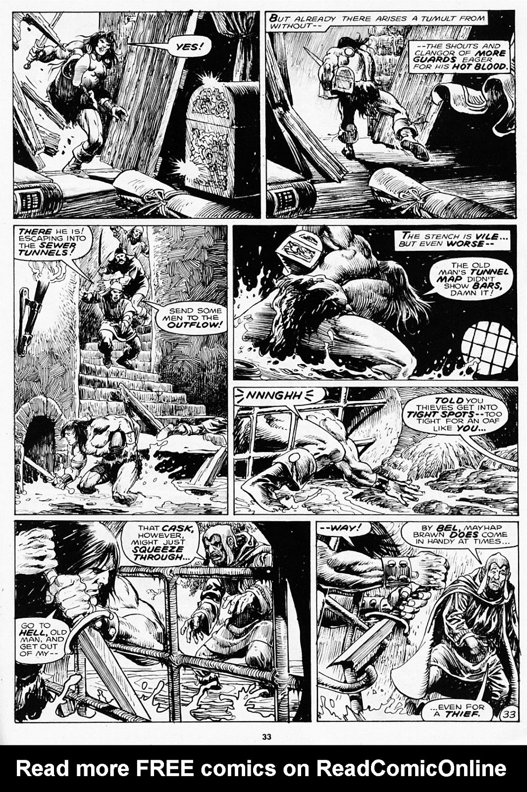 The Savage Sword Of Conan Issue #180 #181 - English 35