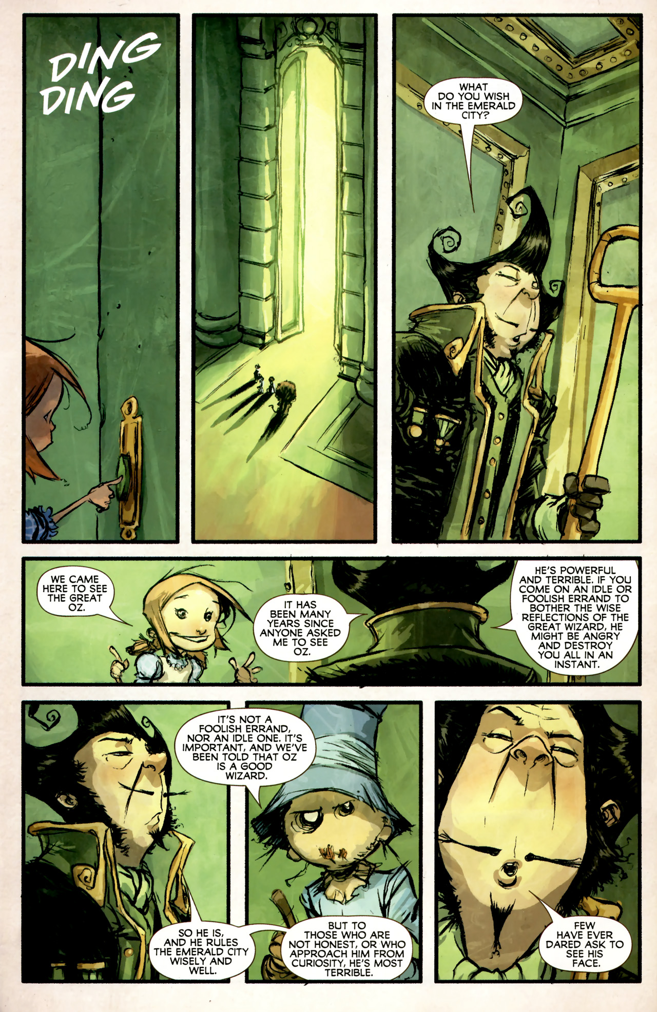 Read online The Wonderful Wizard of Oz comic -  Issue #4 - 8