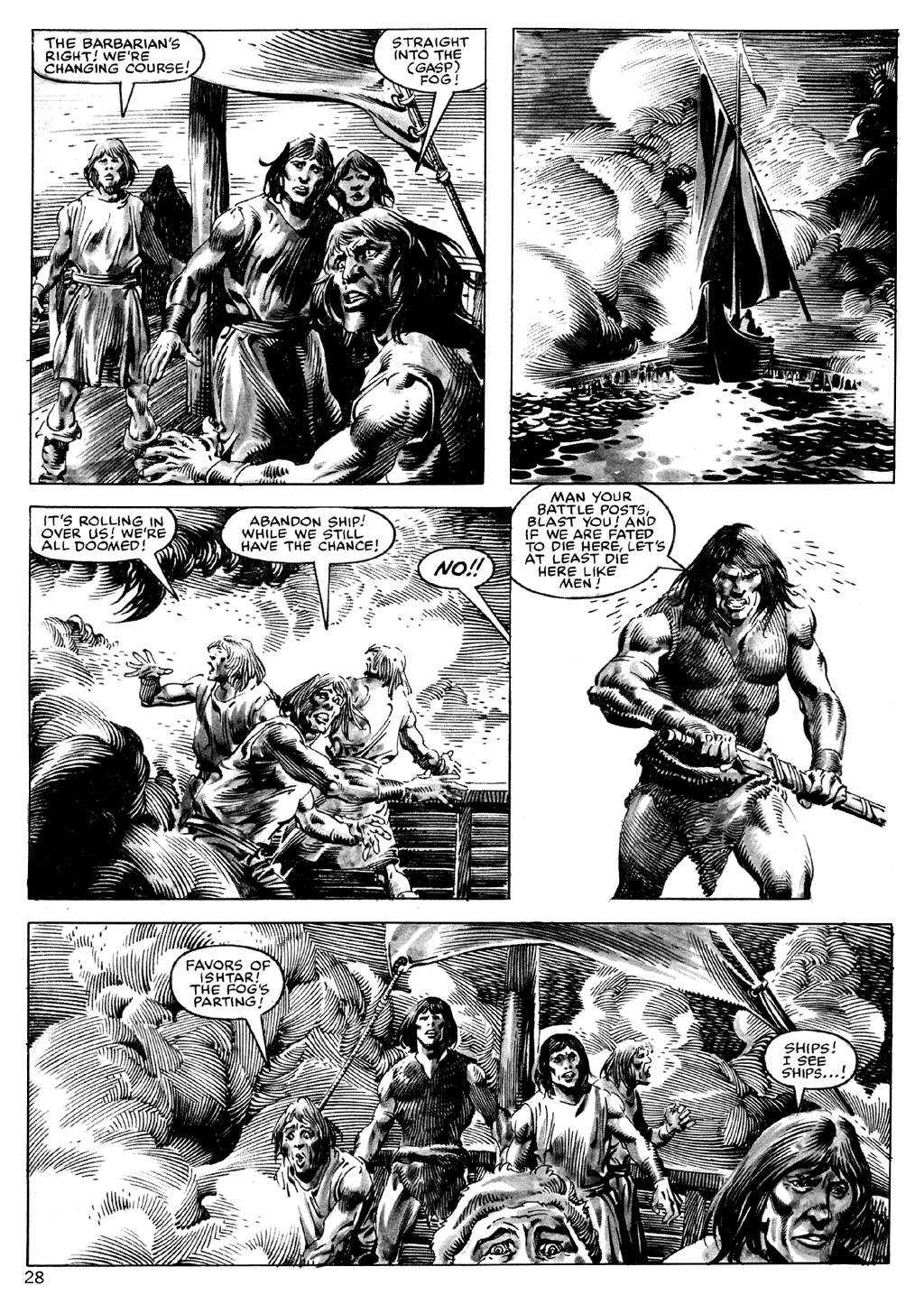 The Savage Sword Of Conan Issue #101 #102 - English 28